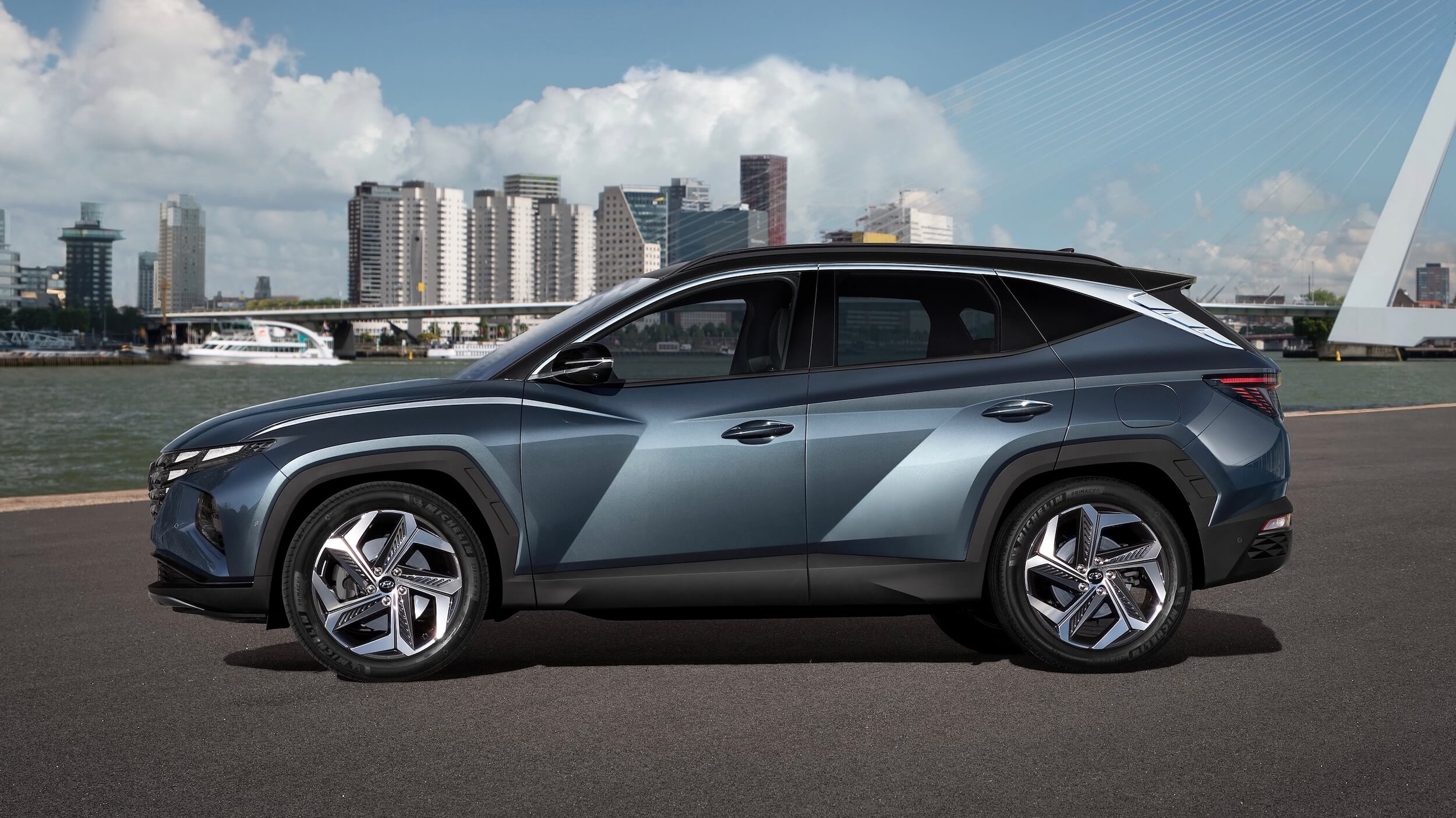 Nieuwe Hyundai Tucson profiel