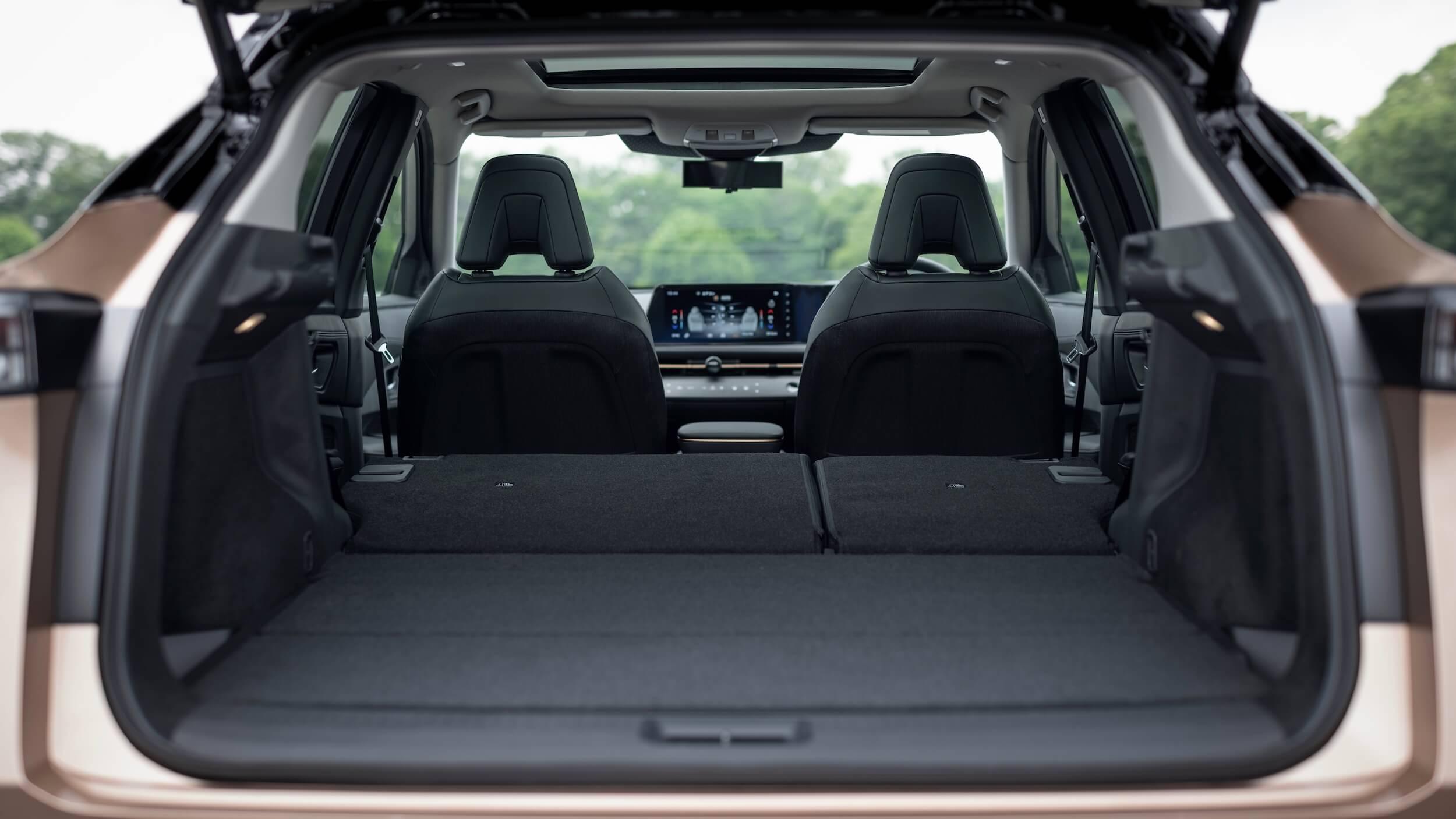 Nissan Ariya koffer