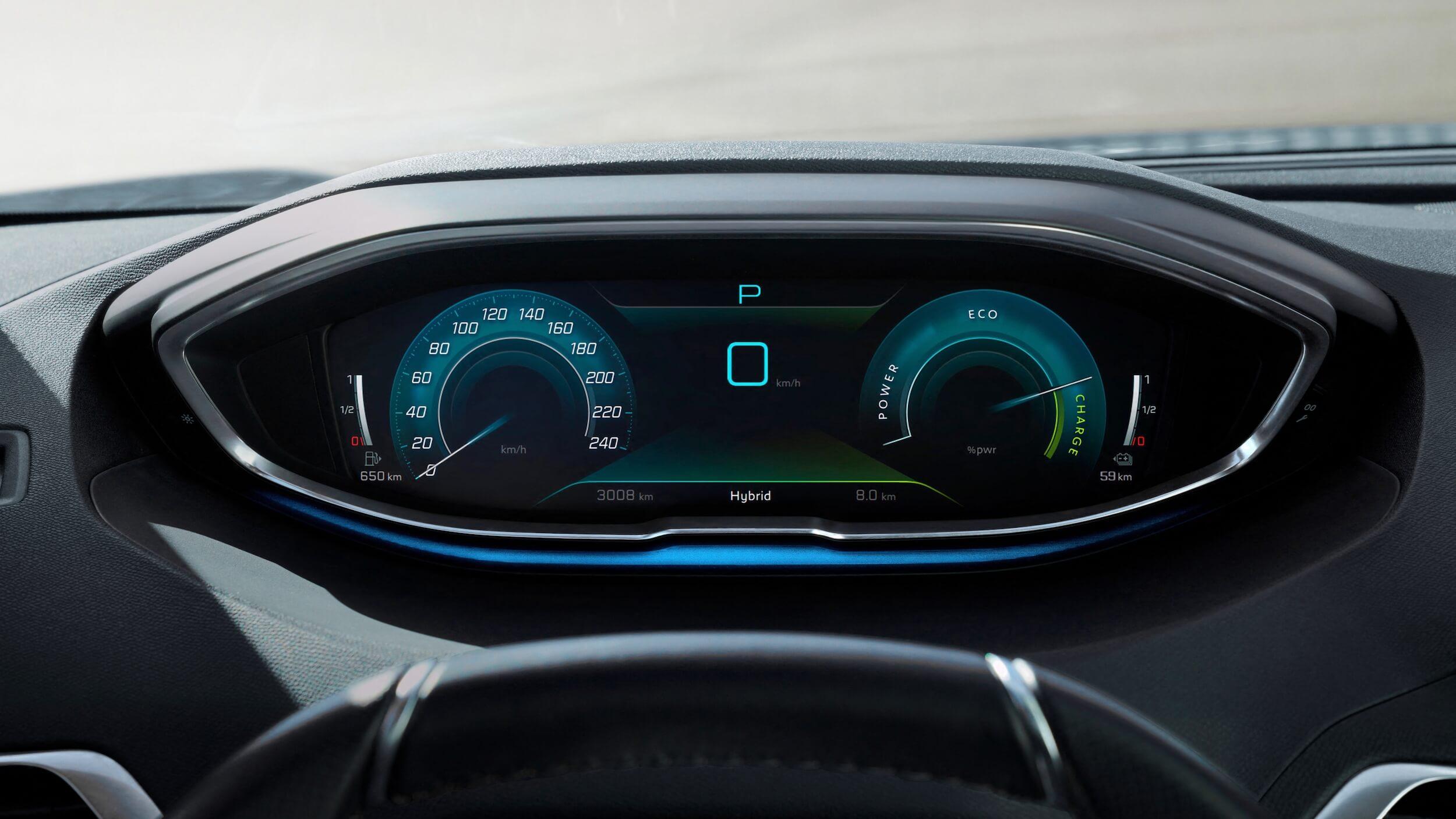 Peugeot 3008 facelift tellers