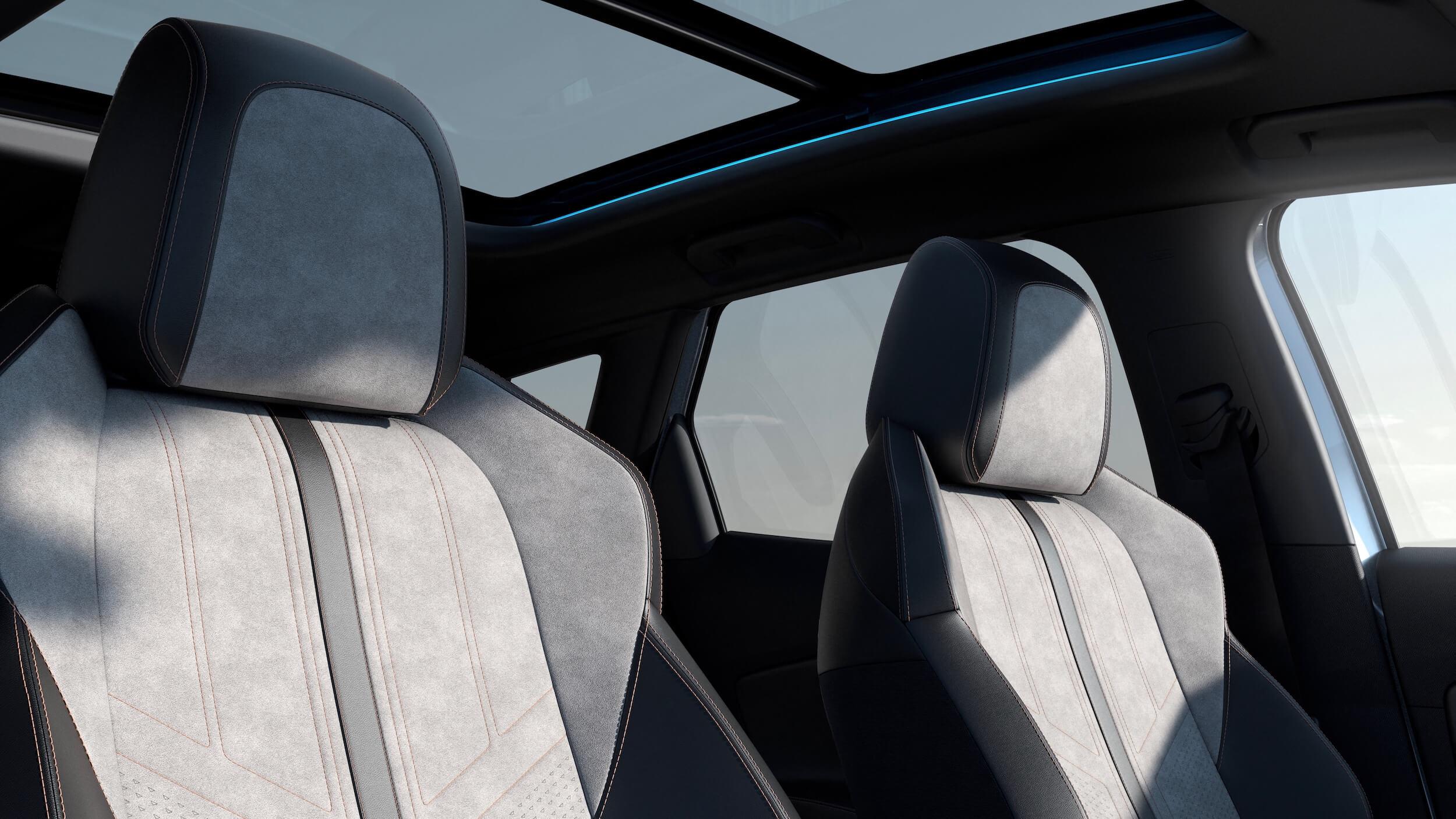 Peugeot 3008 facelift zetels