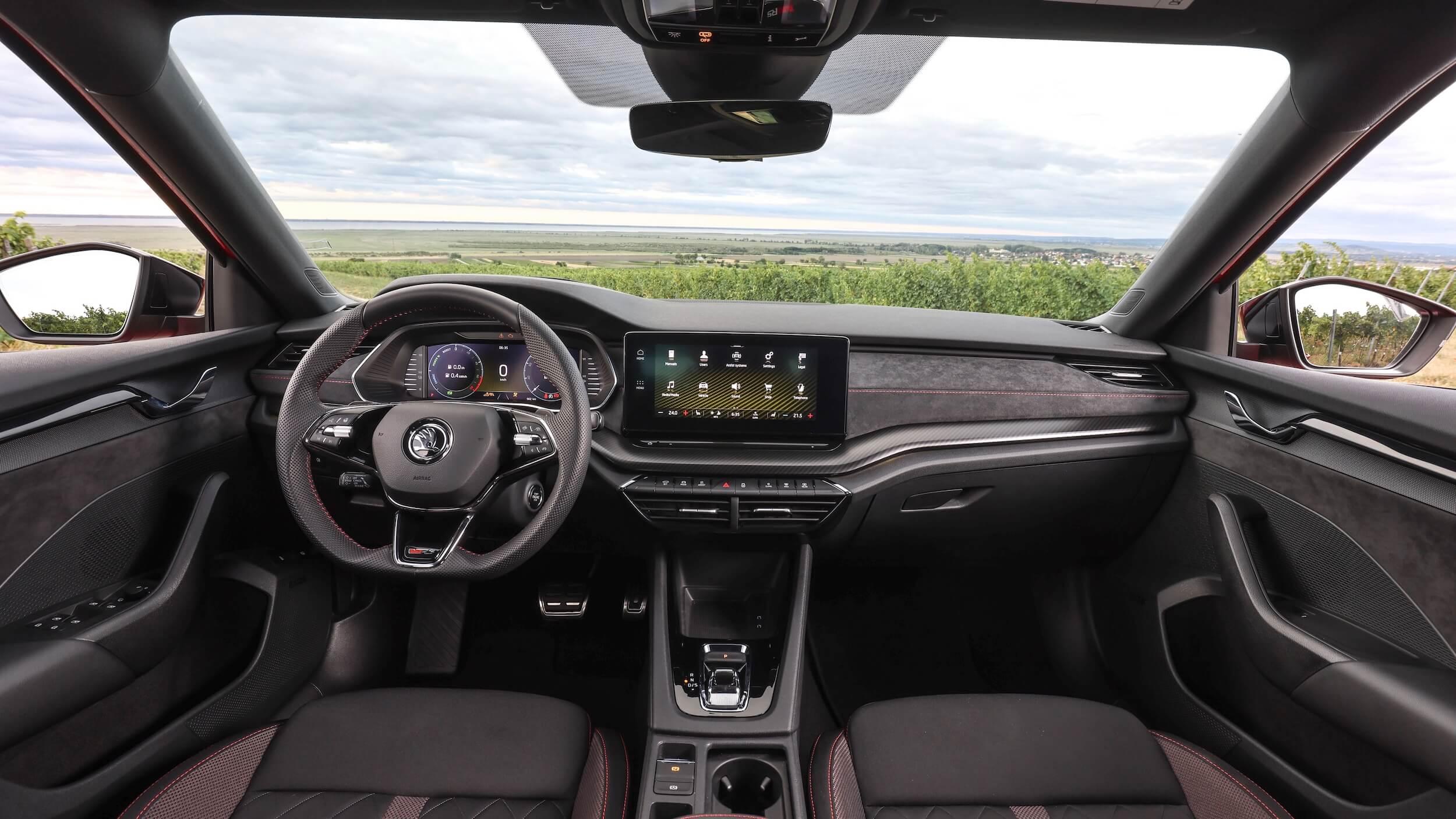 Skoda Octavia Combi RS iV Mk4 interieur