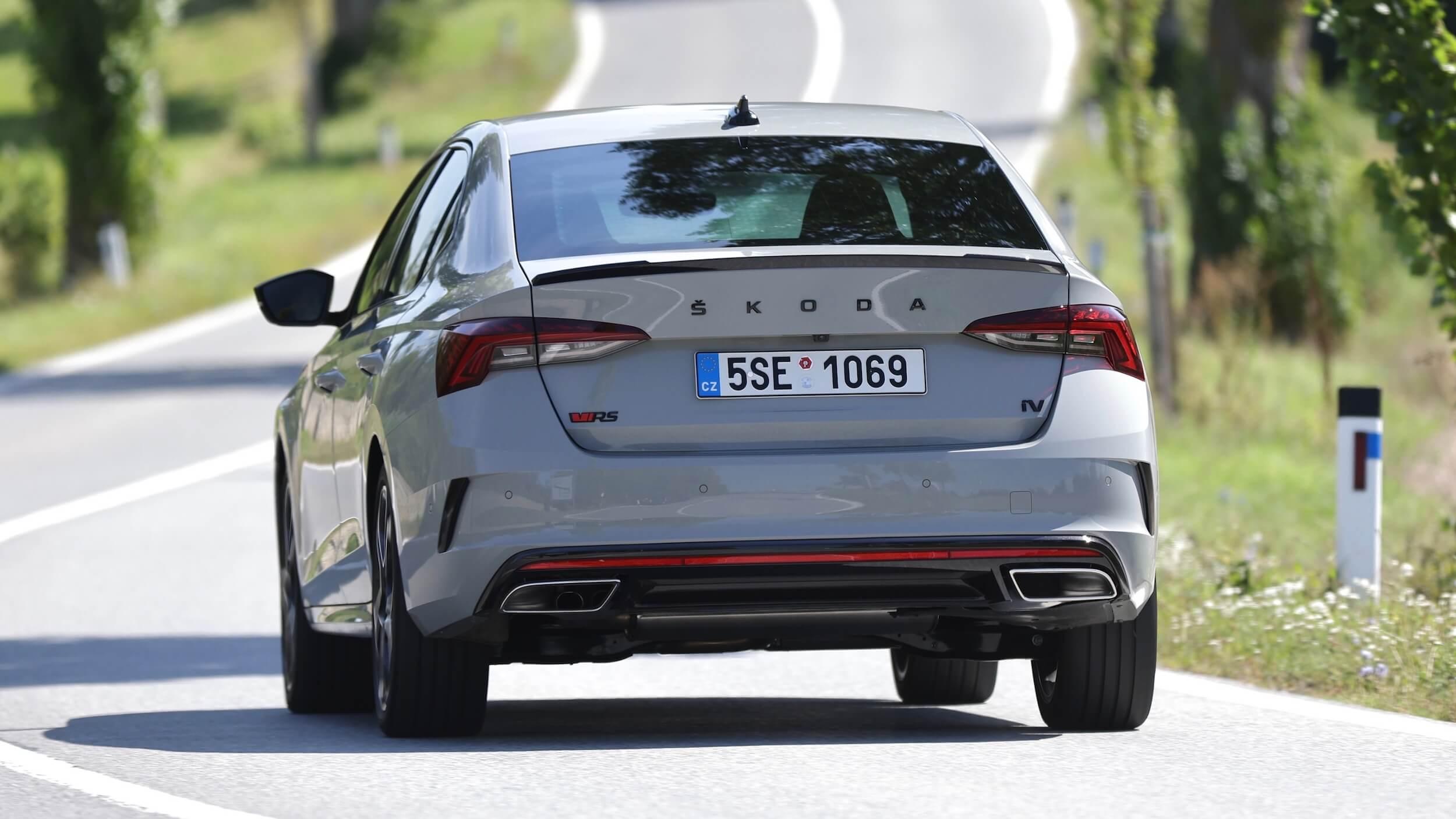 Skoda Octavia RS iV achterkant