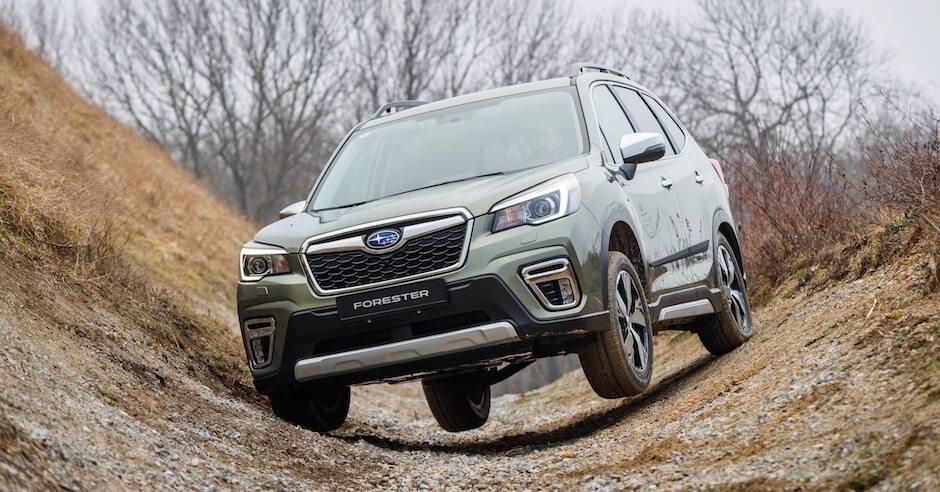 Subaru Forester e Boxer offroad