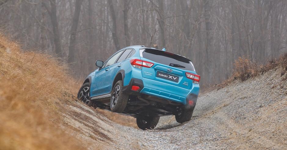 Subaru XV hybride offroad