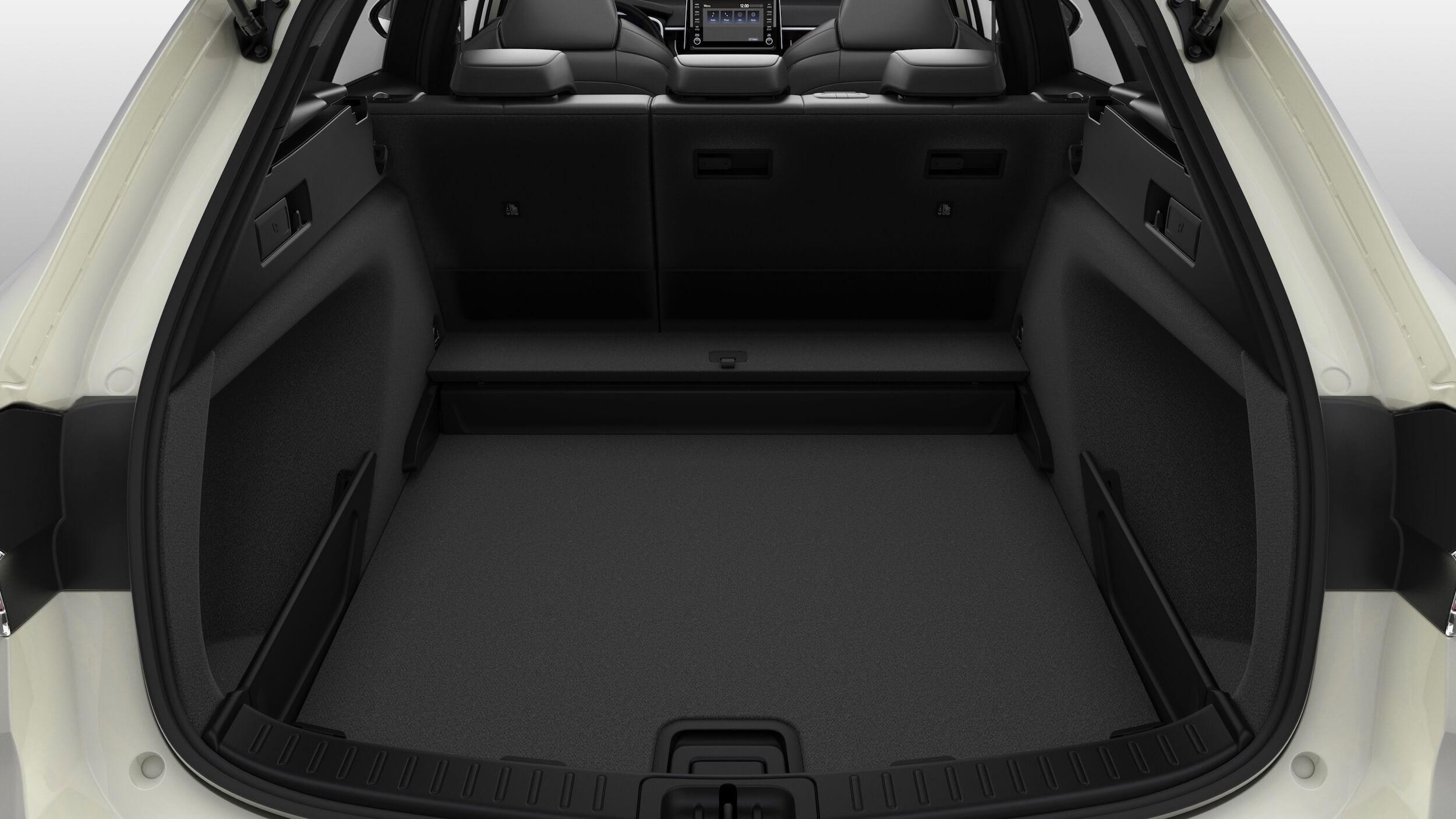 Suzuki Swace hybride koffer opbergvak