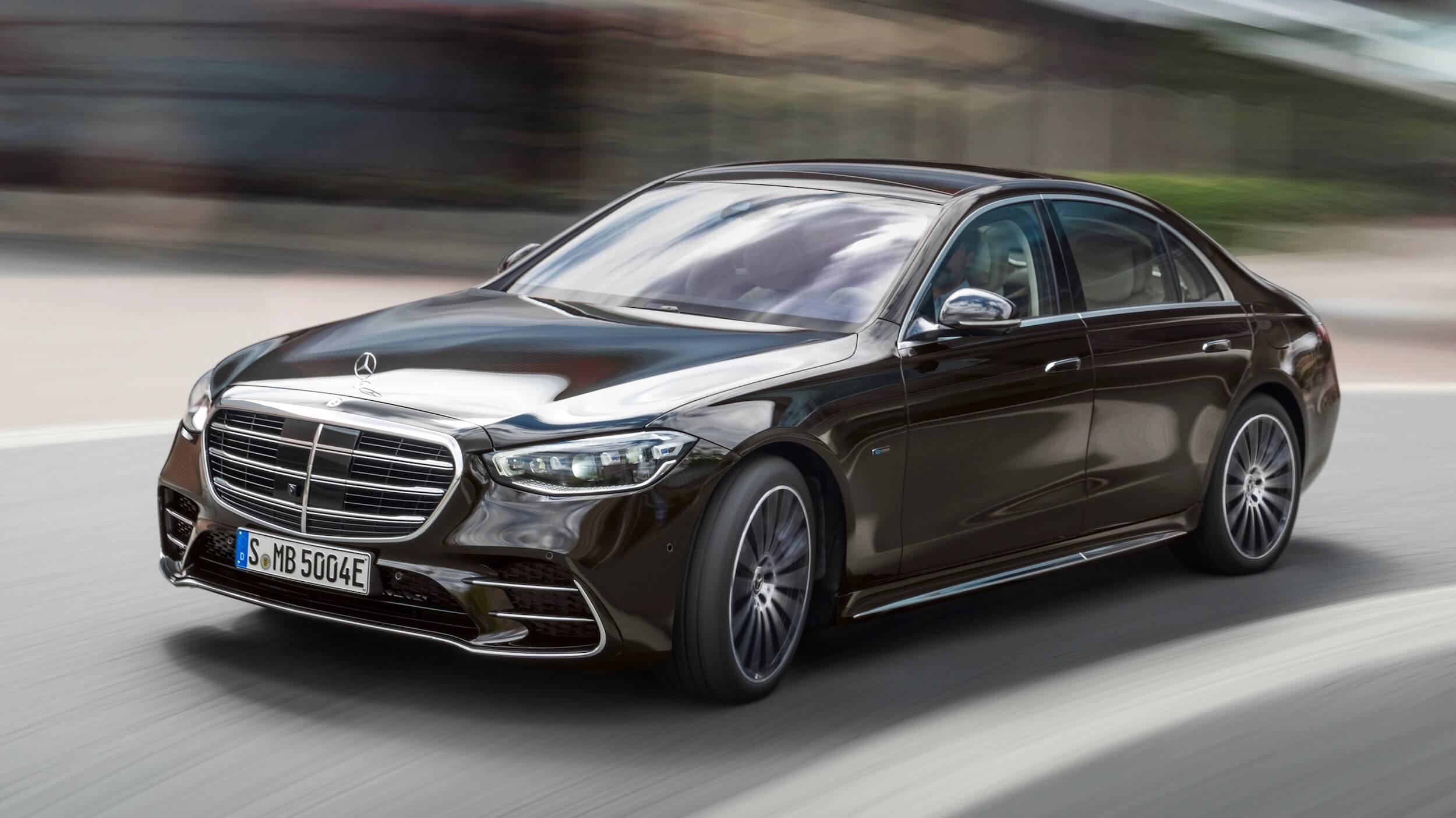 nieuwe Mercedes S Klasse plug in hybride