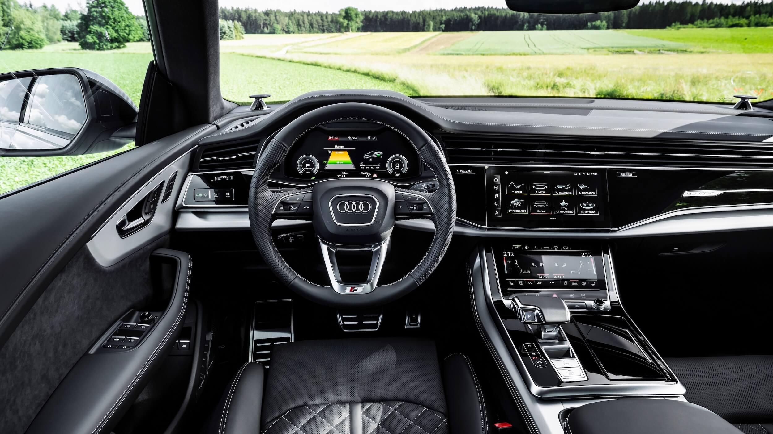Audi Q8 PHEV interieur