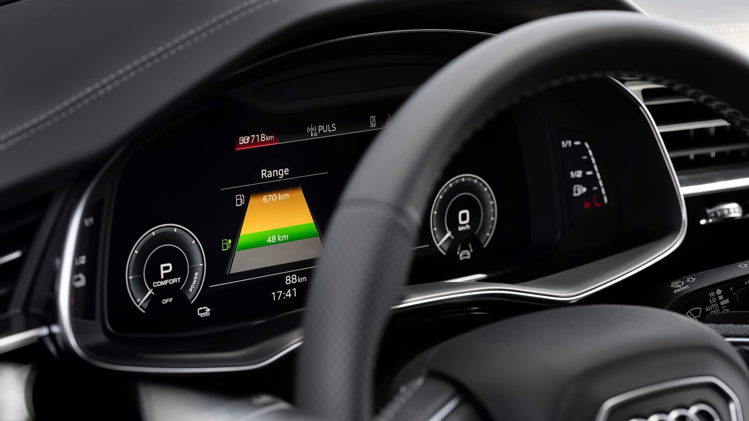Audi Q8 PHEV stuur