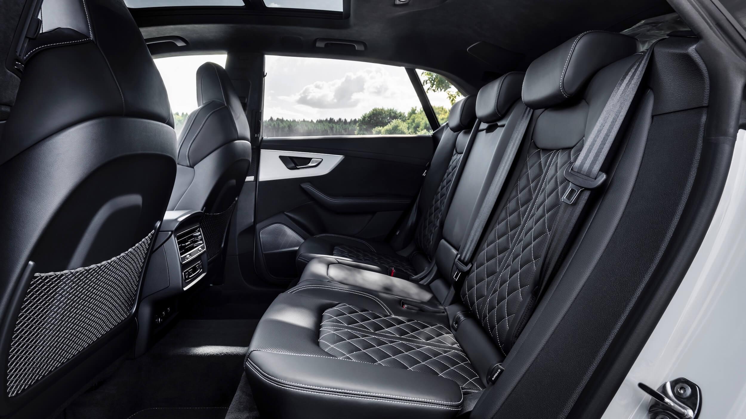 Audi Q8 PHEV zetels