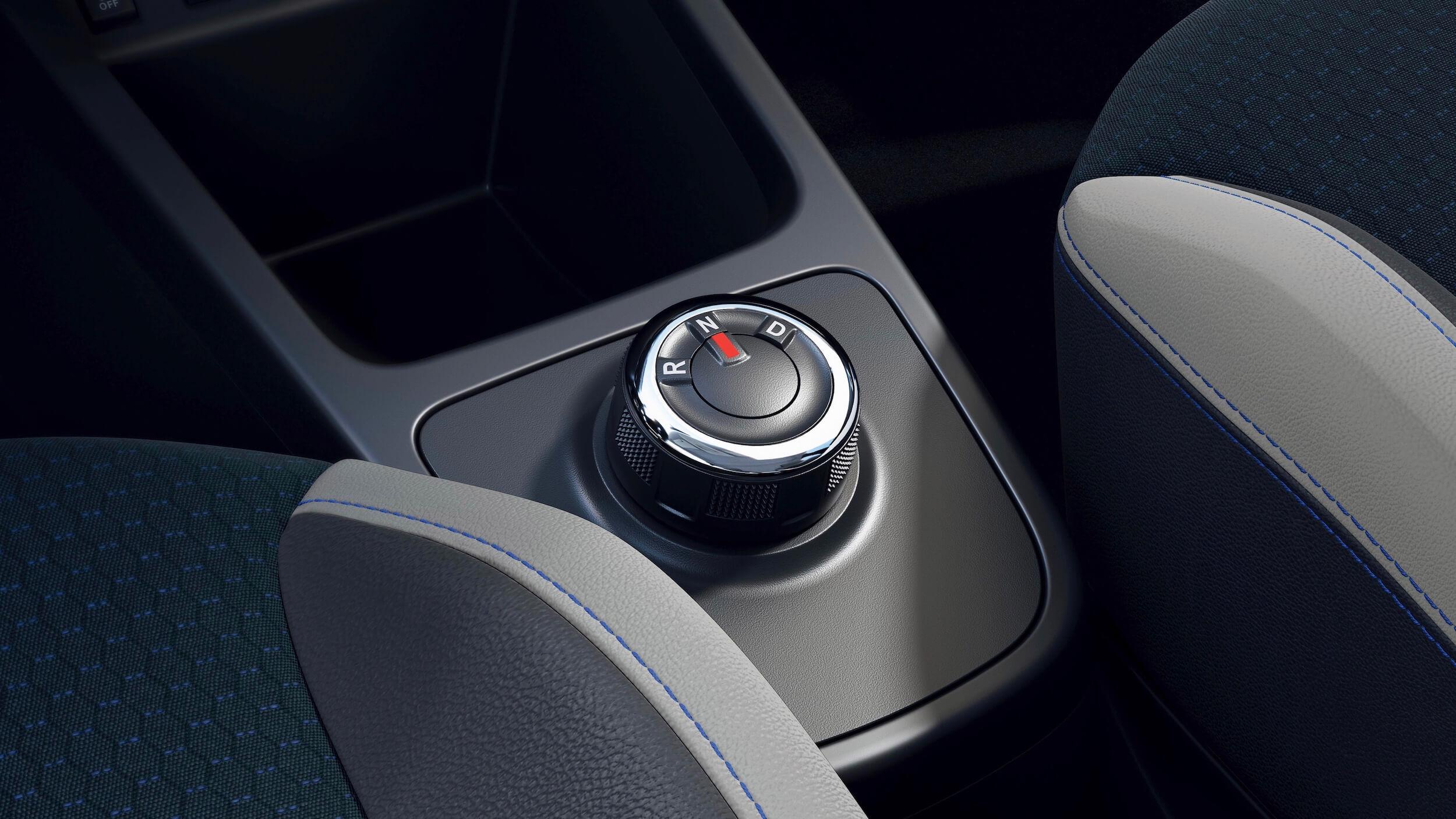 Dacia Spring drive selector