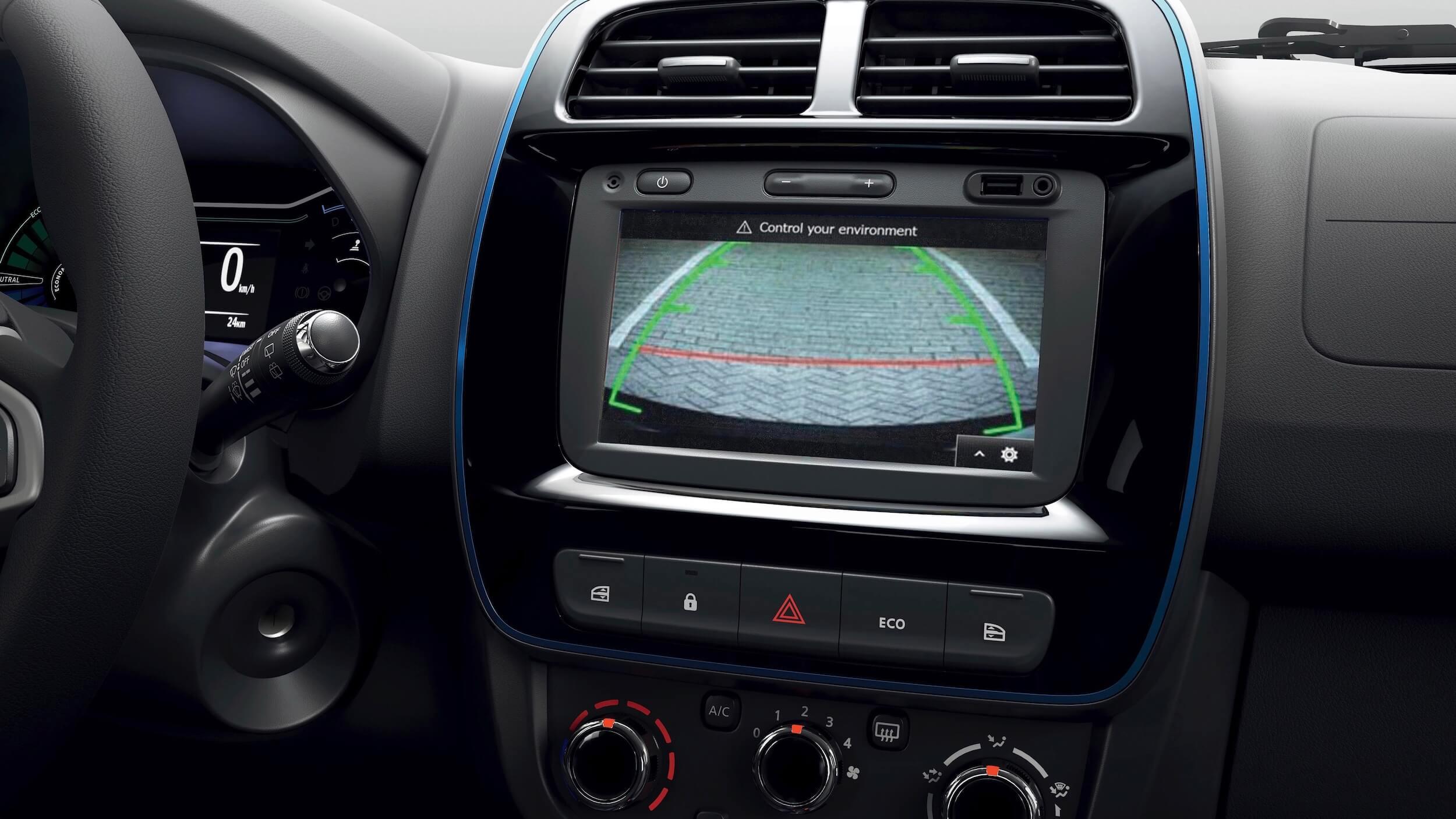 Dacia Spring infotainment scherm