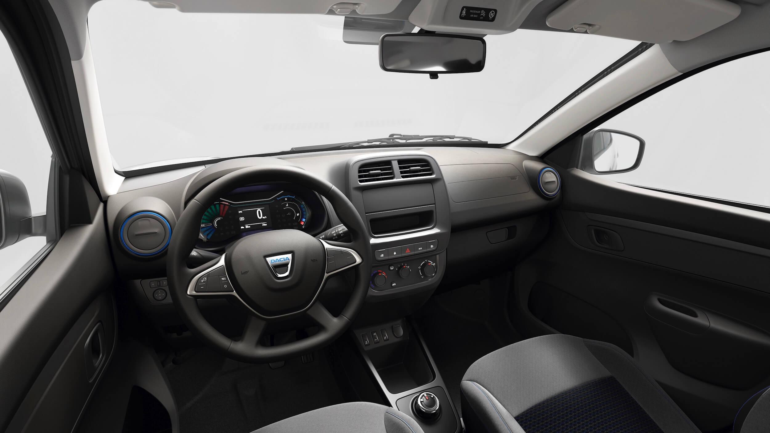 Dacia Spring interieur