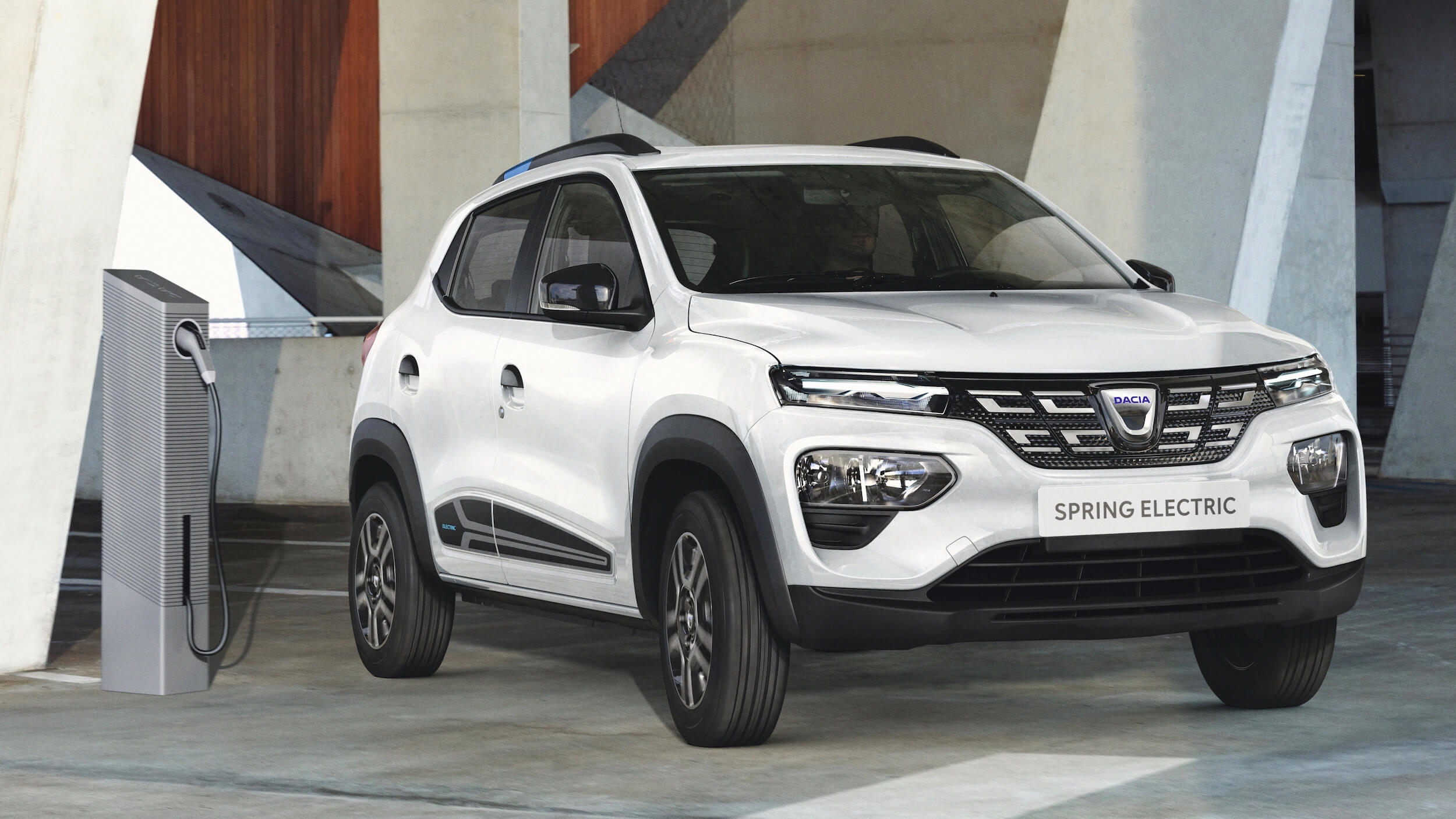 Dacia Spring laadpaal