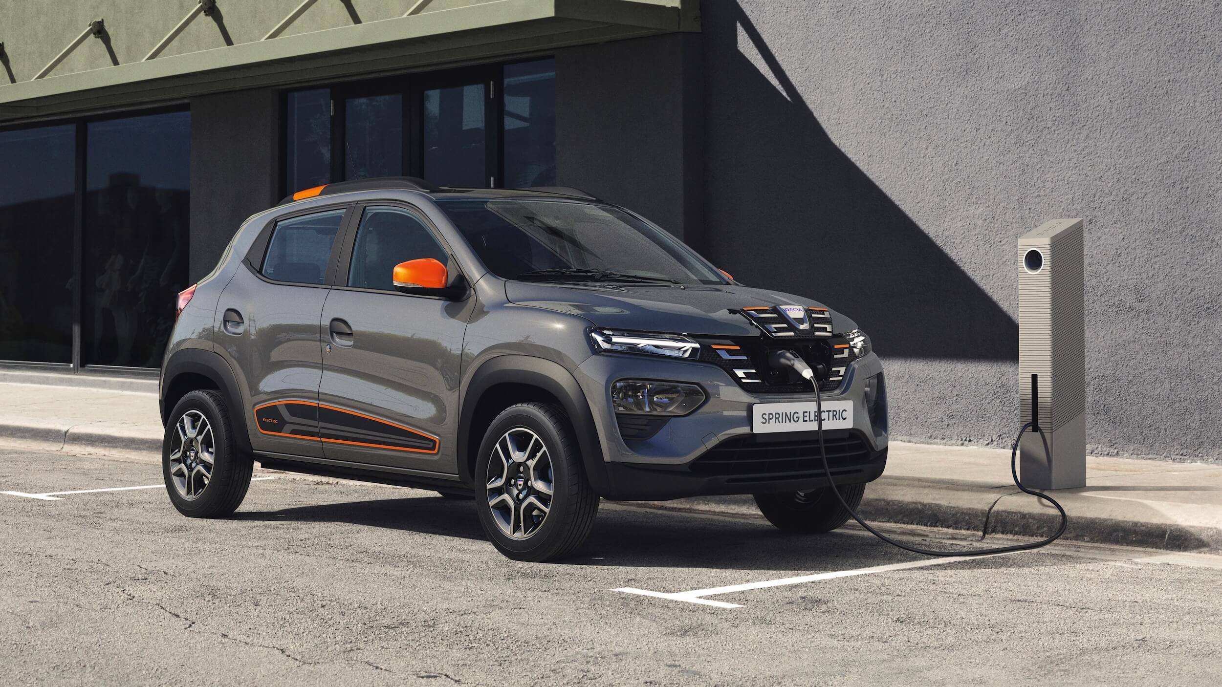 Dacia Spring opladen