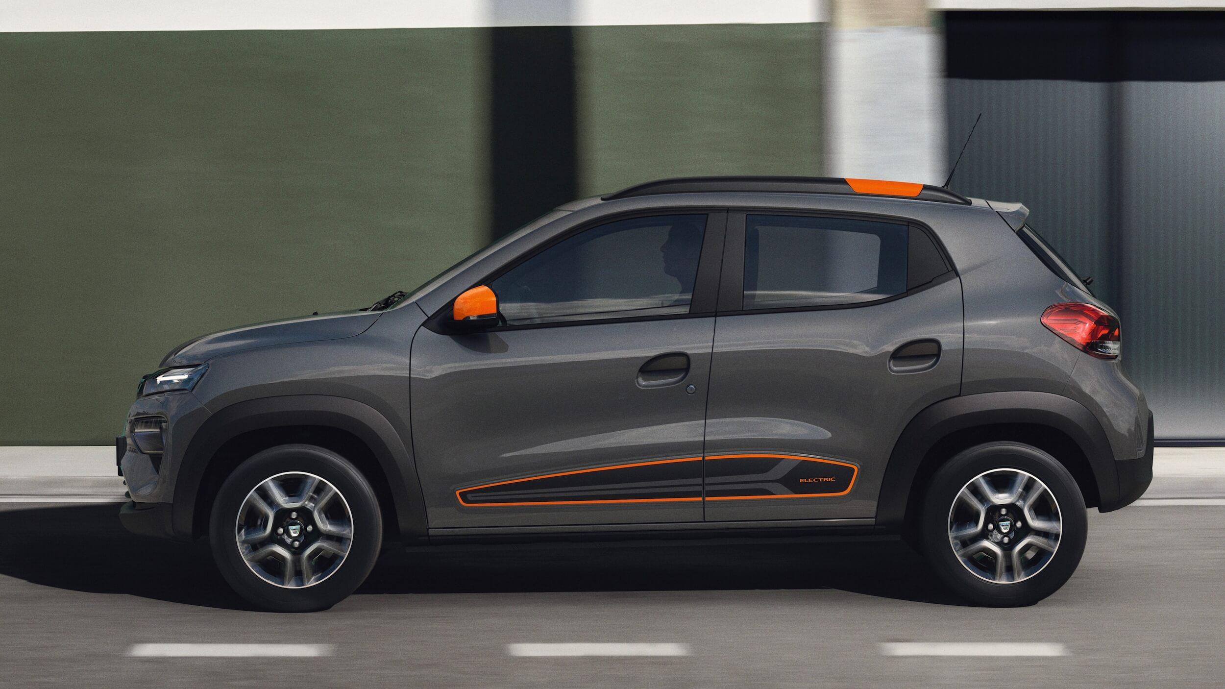 Dacia Spring profiel
