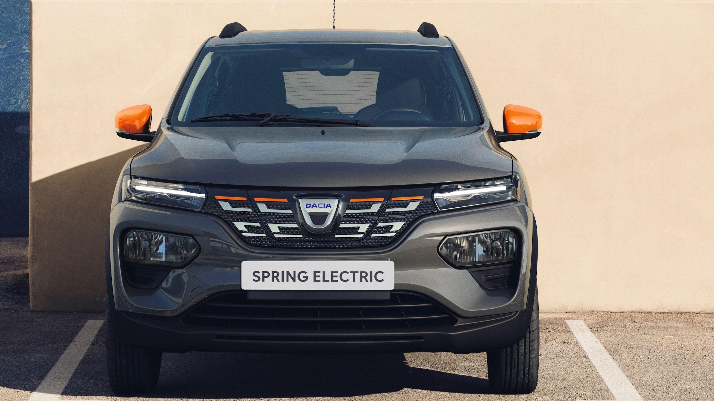 Dacia Spring voorkant
