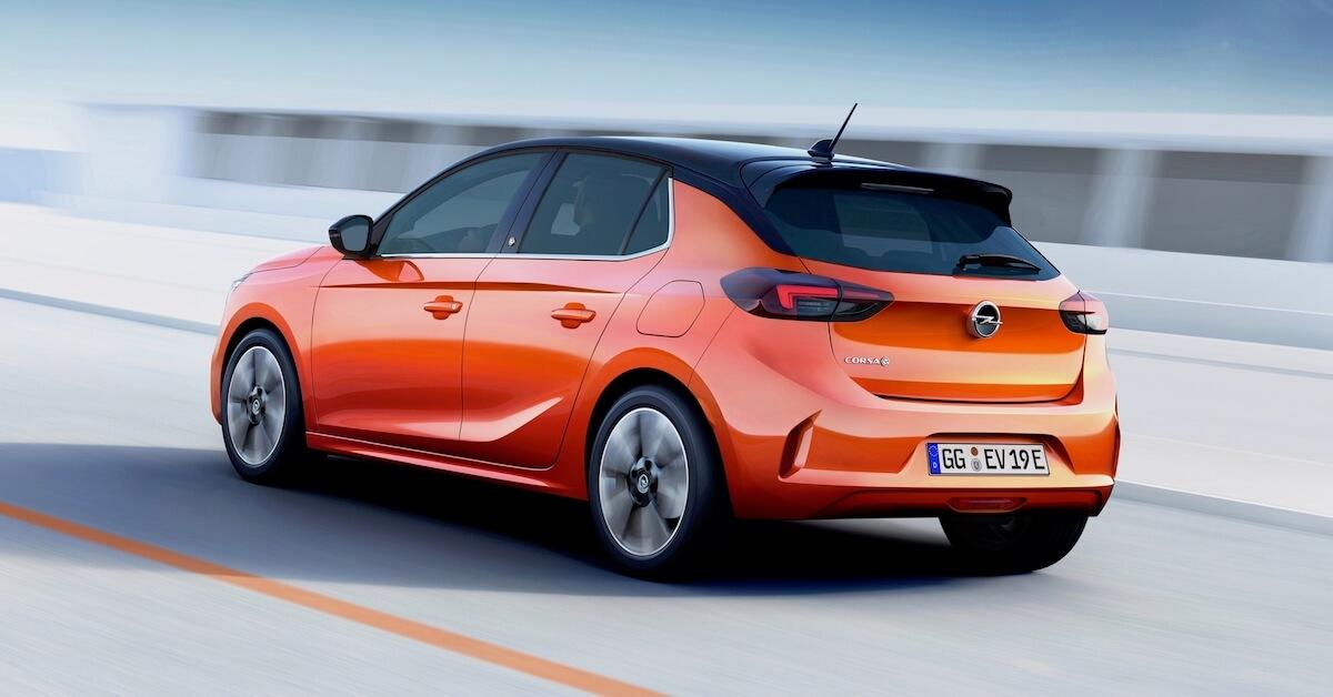 Elektrische Opel Corsa
