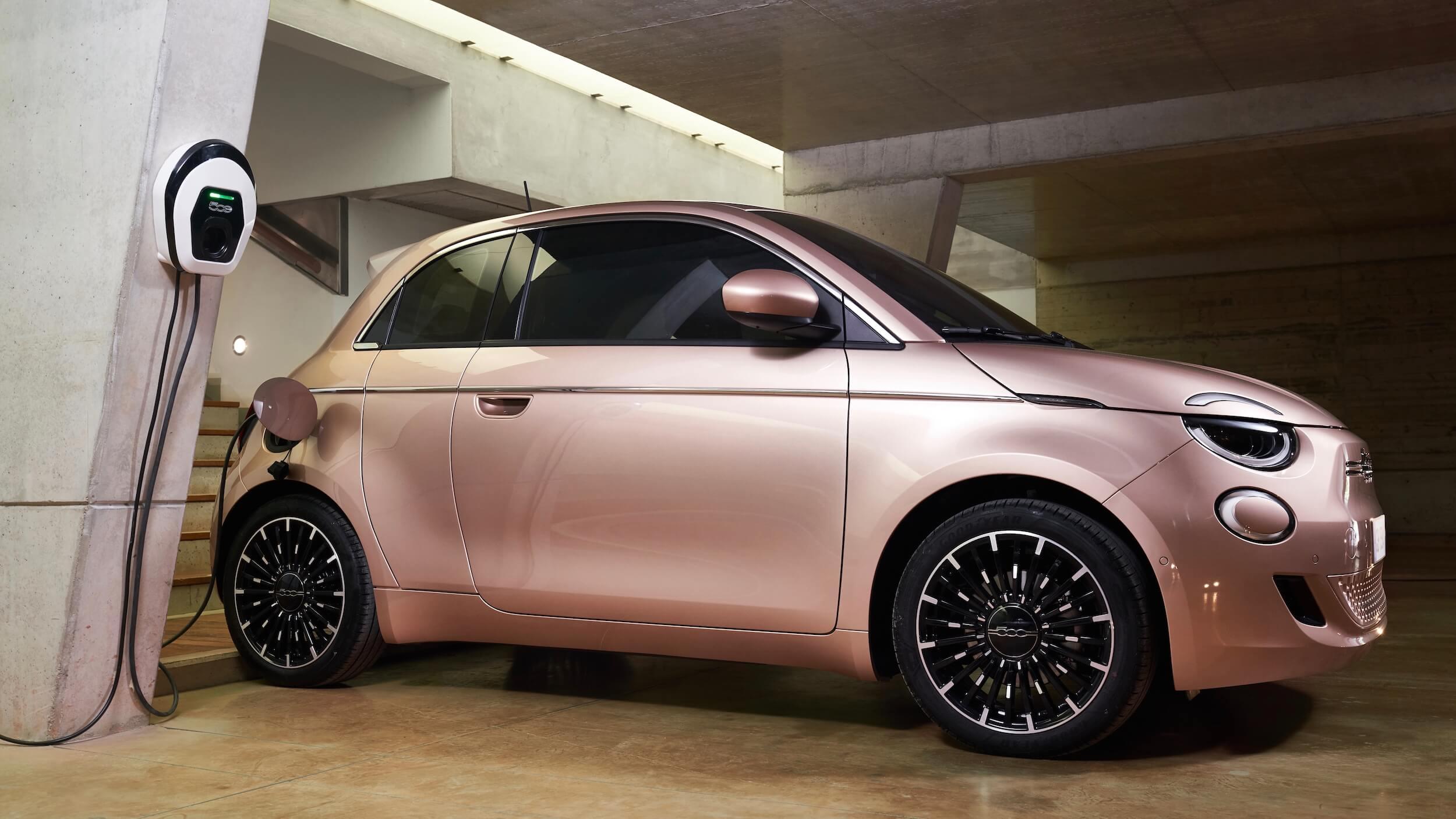 Fiat 500e 31 wallbox
