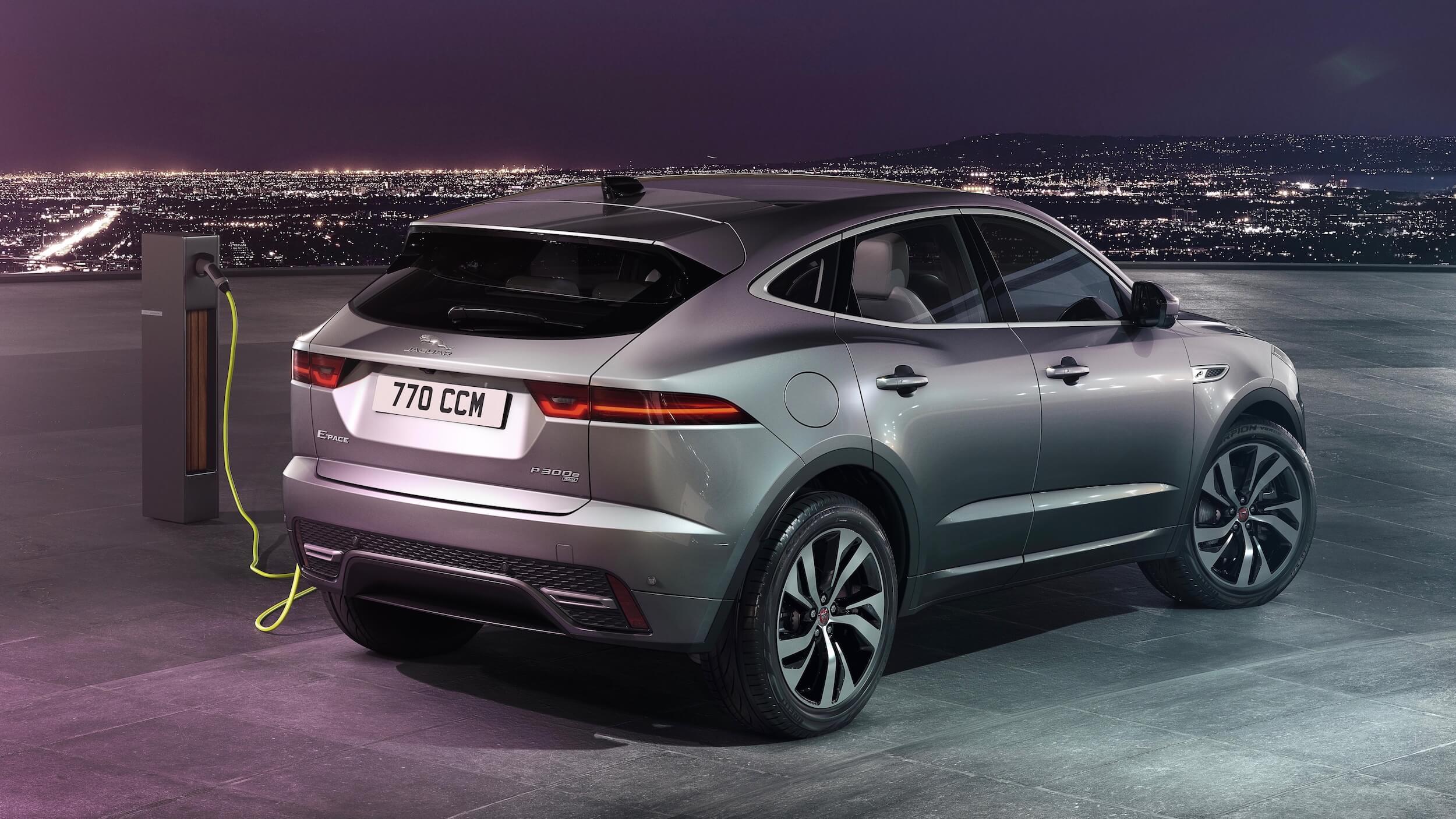 Jaguar E Pace plug in hybride opladen