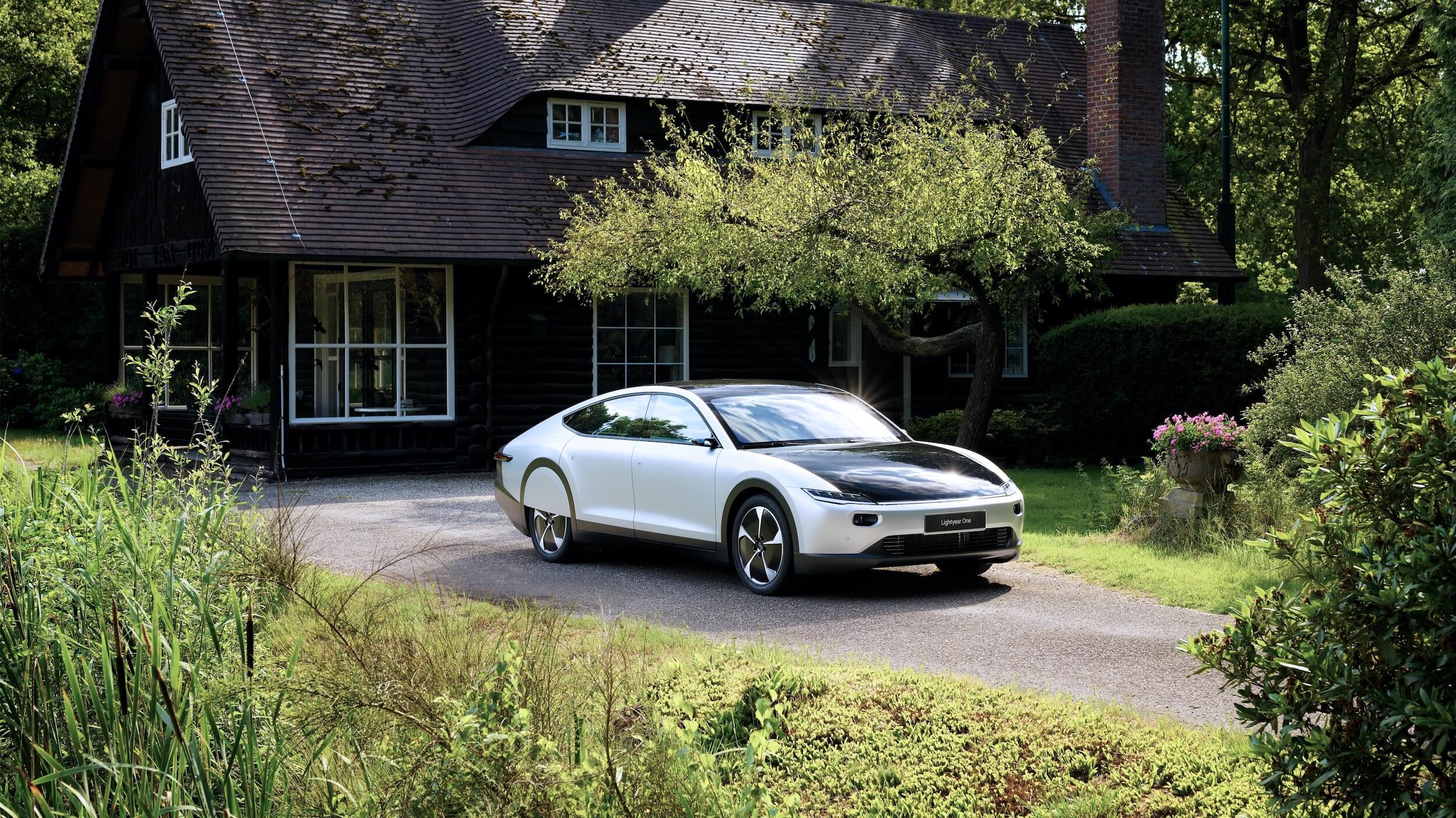 Lightyear One elektrische auto