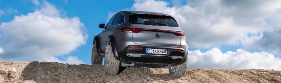 Mercedes EQC grote wielen