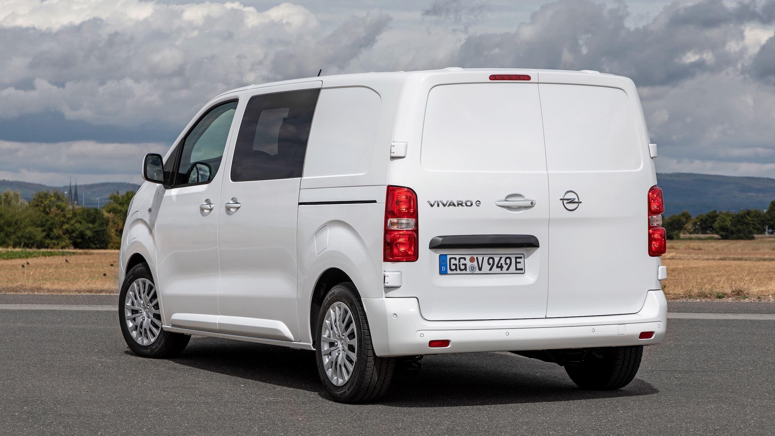 Opel Vivaro e Combi elektrische minibus