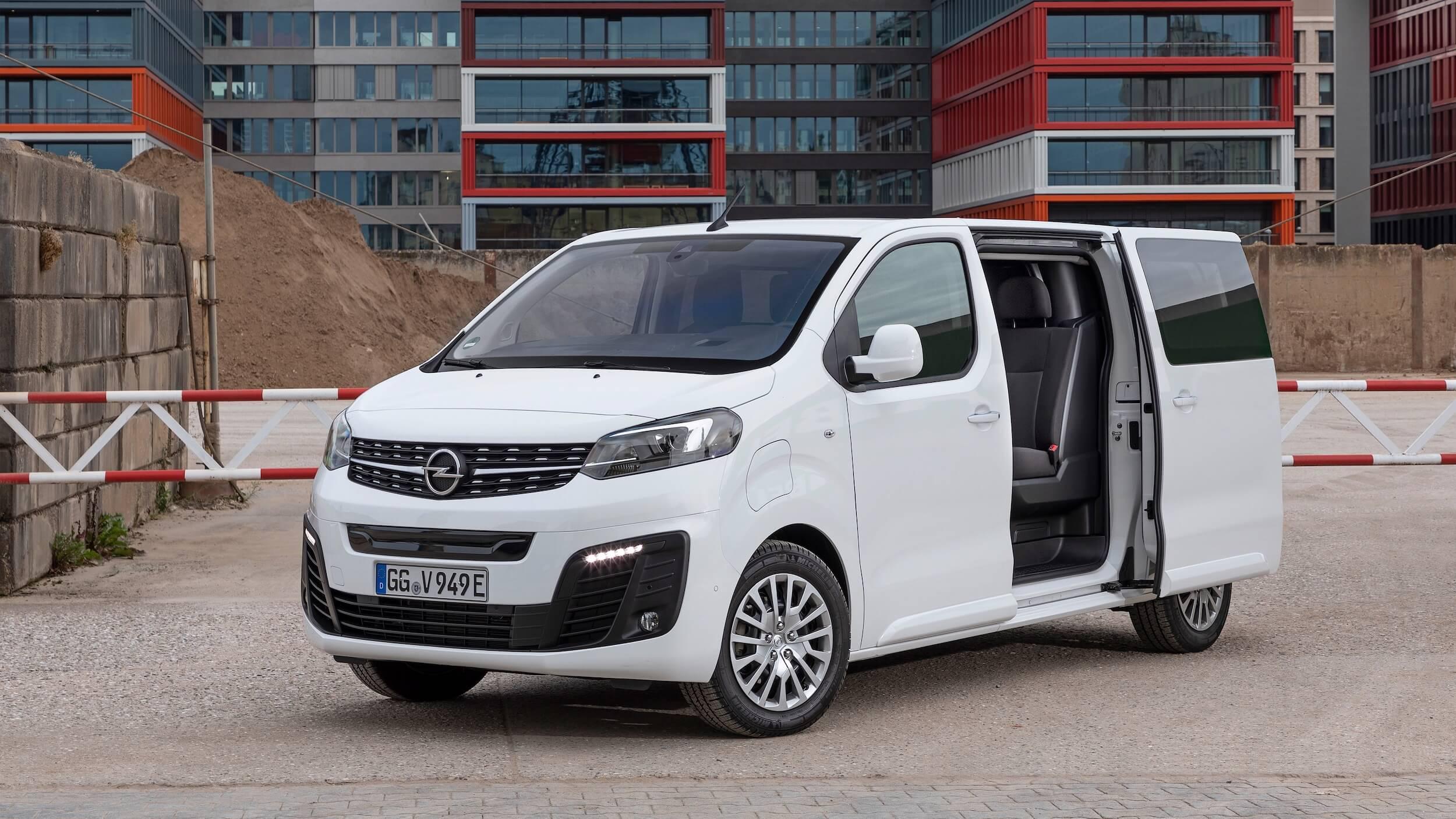 Opel Vivaro e Combi schuifdeur