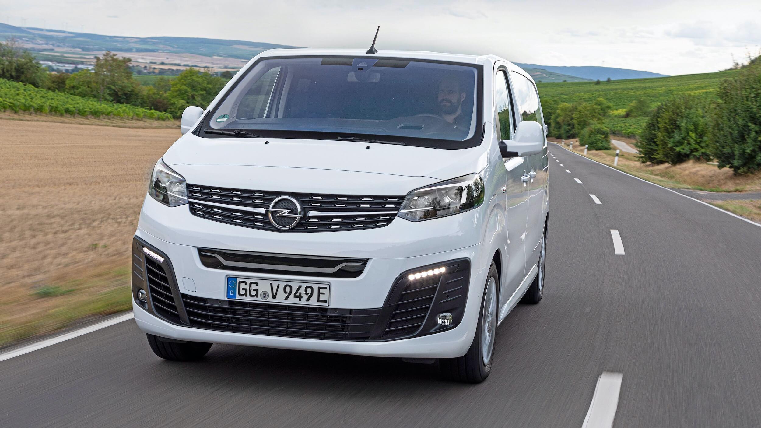 Opel Vivaro e Combi voorkant