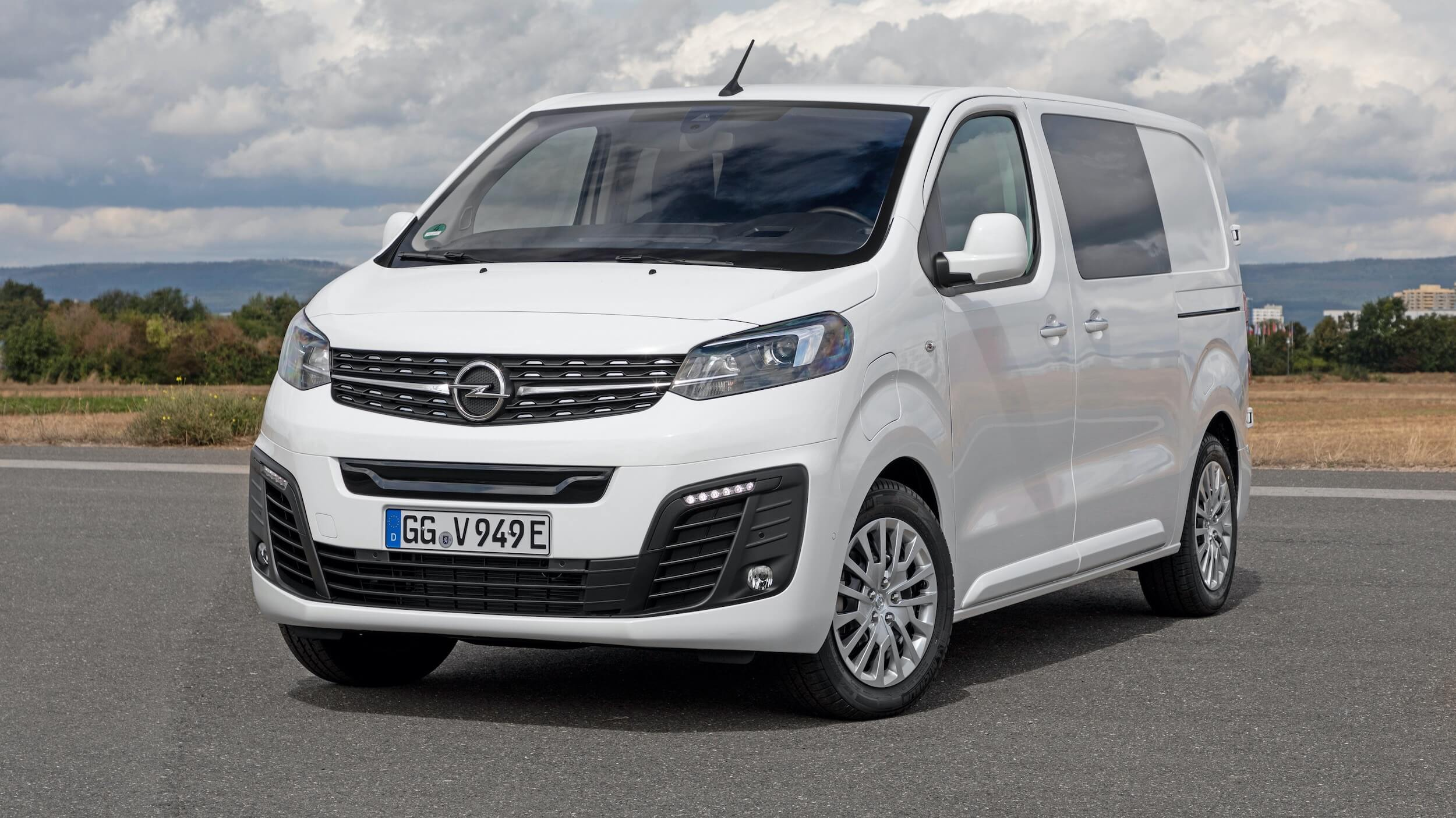 Opel Vivaro e Combi wit
