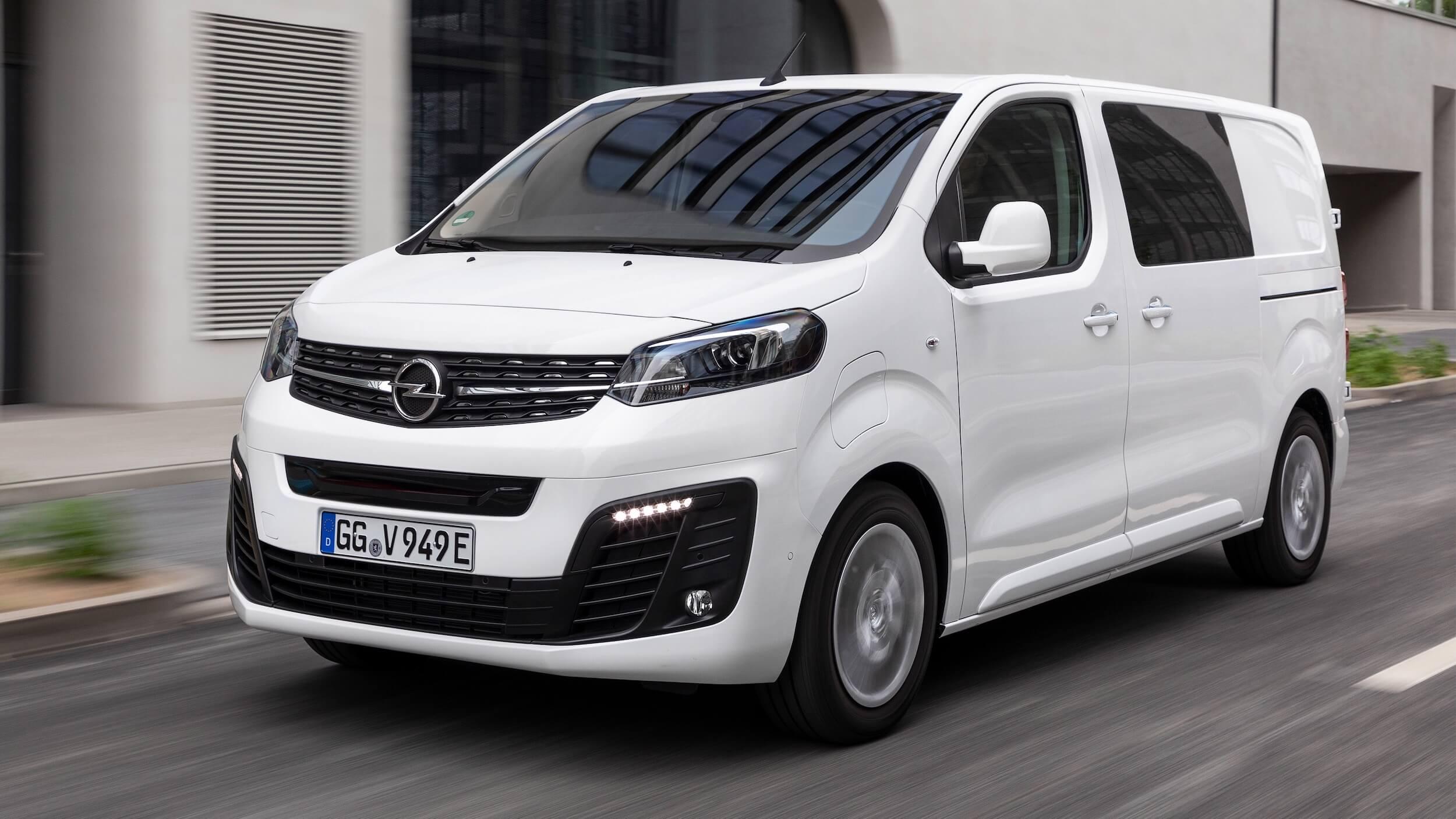 Opel Vivaro e Combi