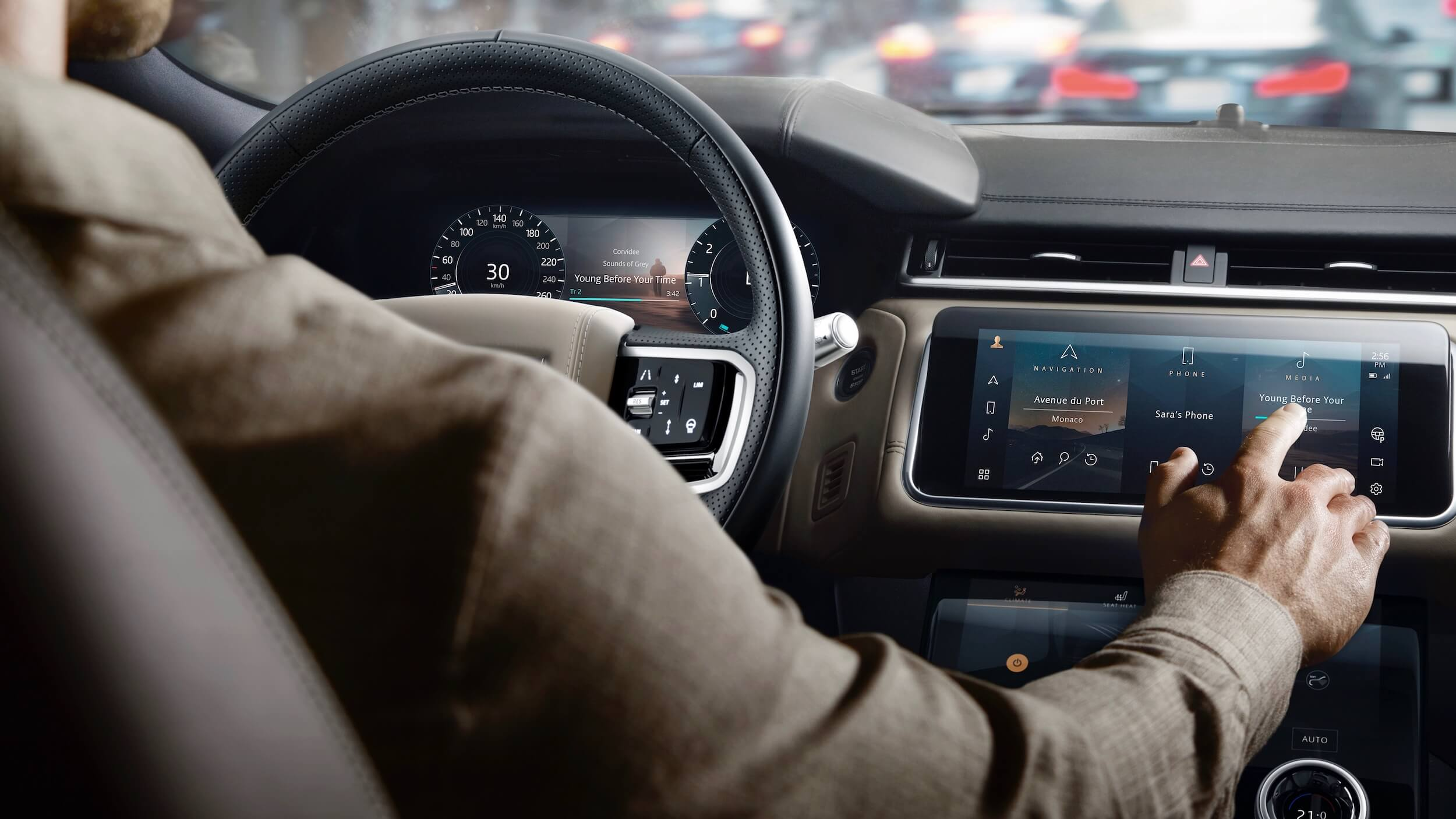 Range Rover Velar P400e dashboard
