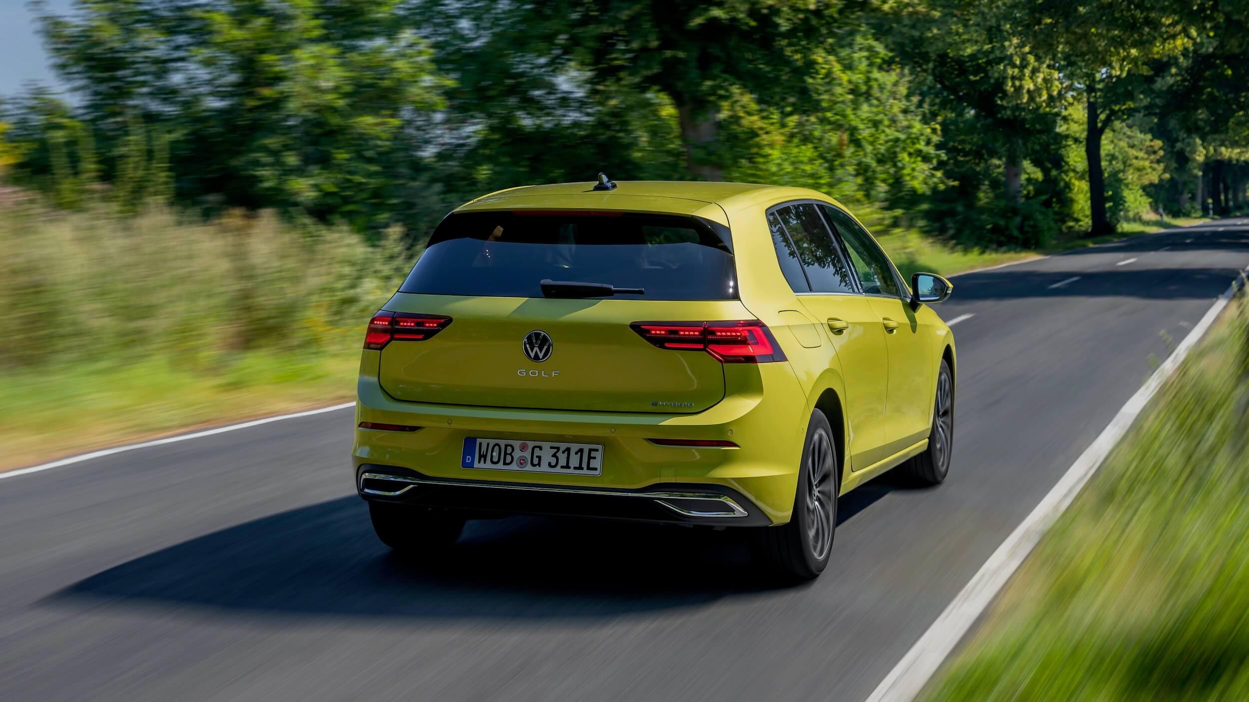 VW Golf eHybrid achterkant