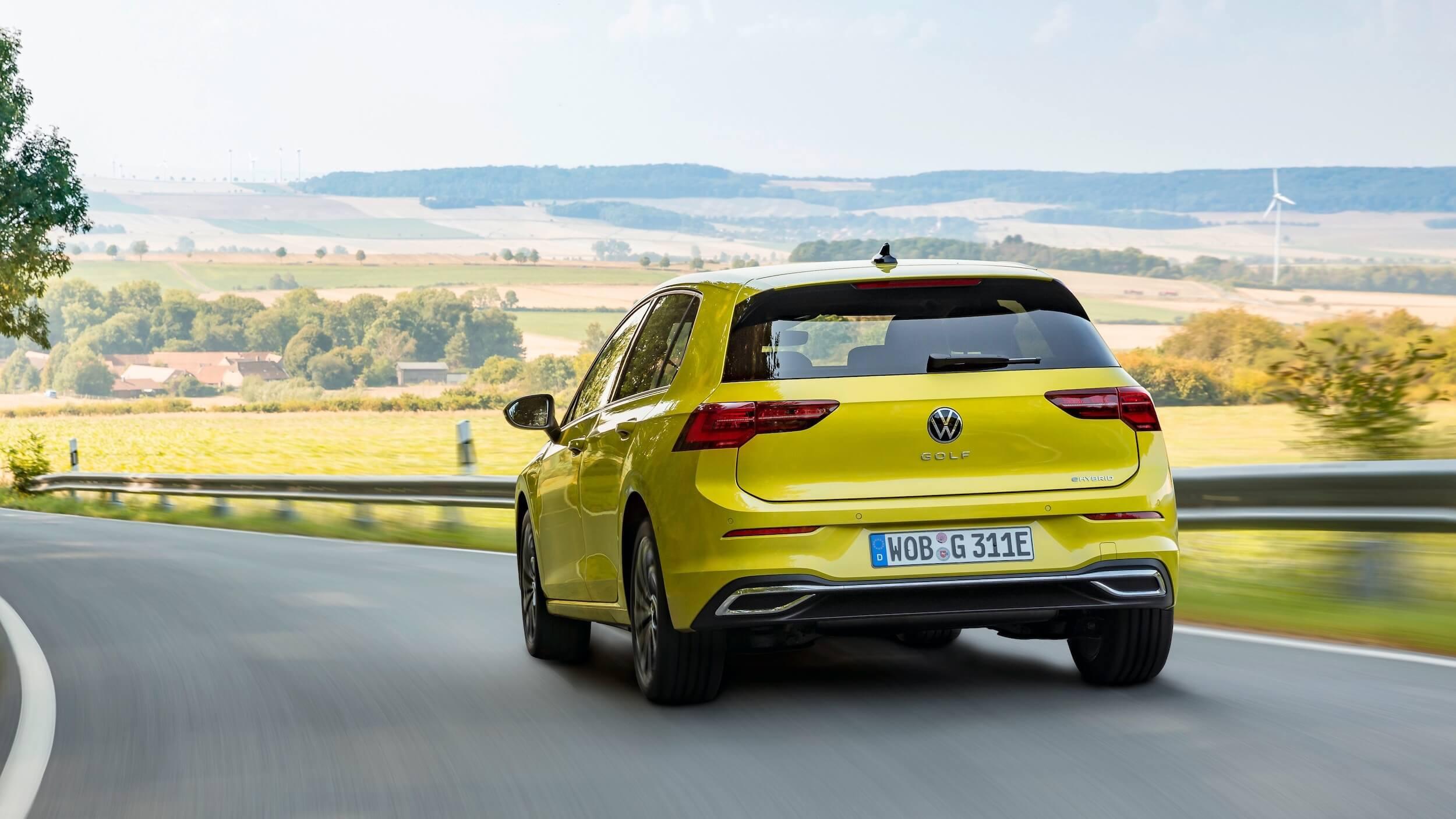 VW Golf eHybrid plug in hybride