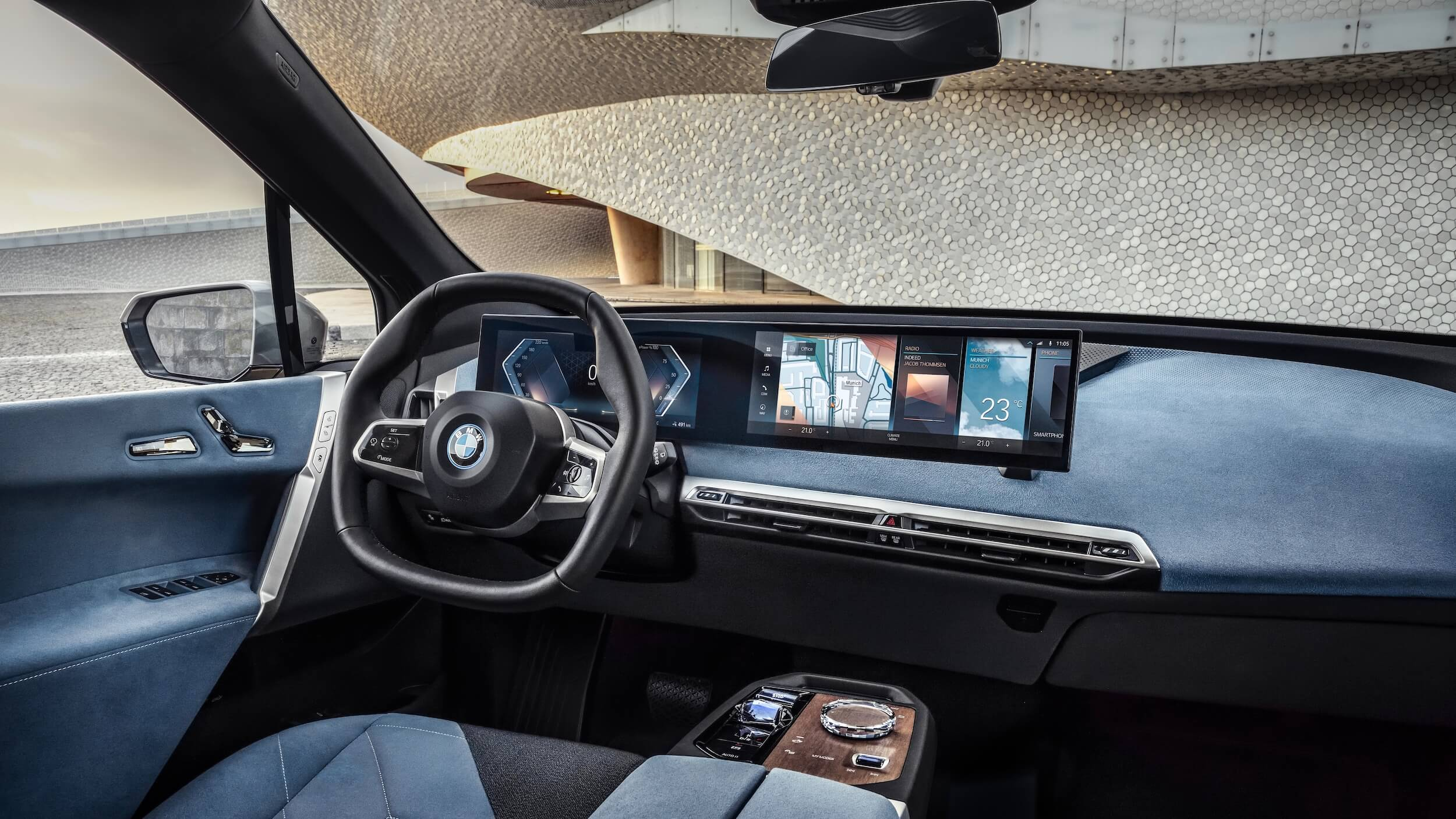 BMW iX interieur 2