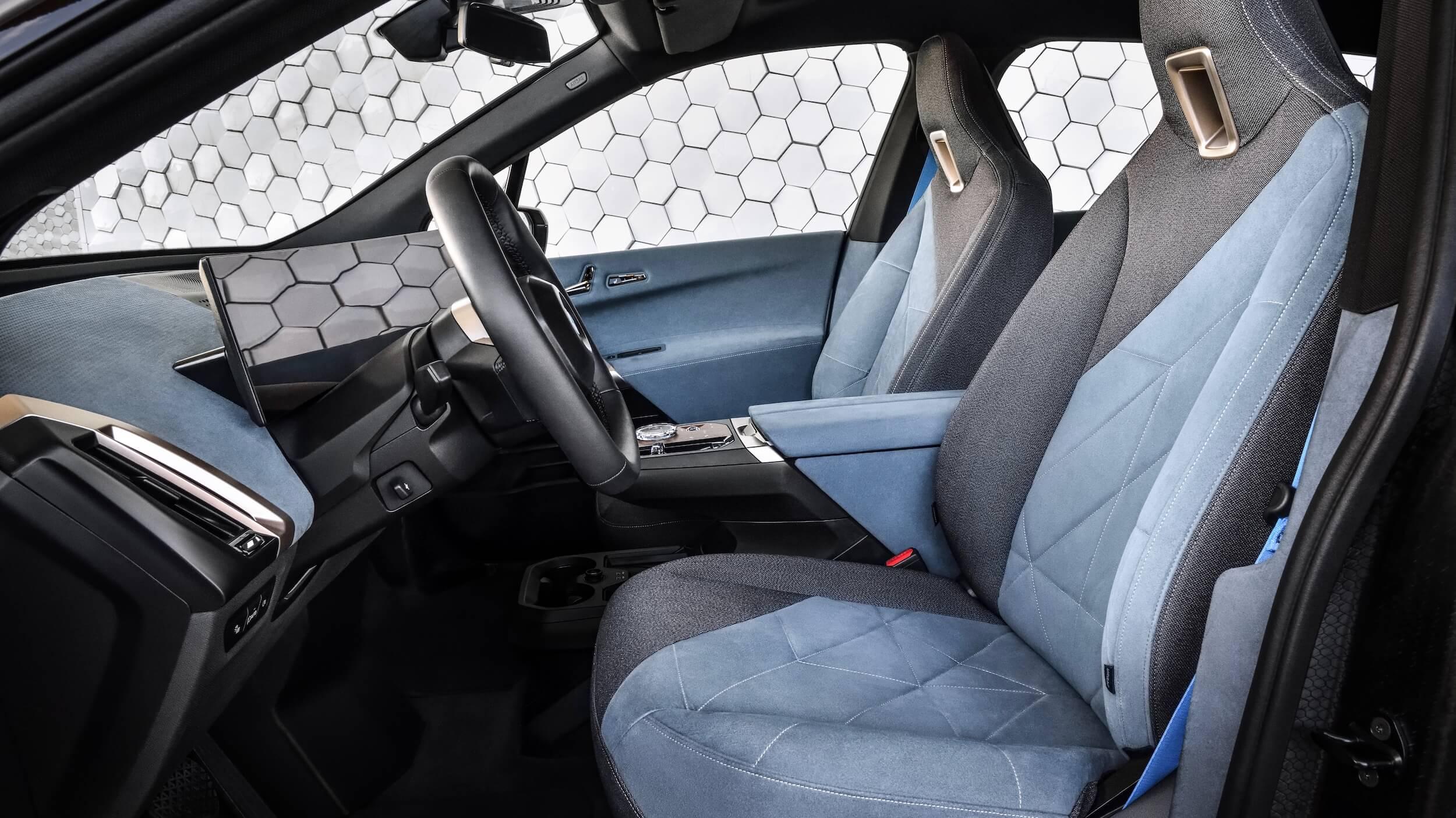 BMW iX zetels 1