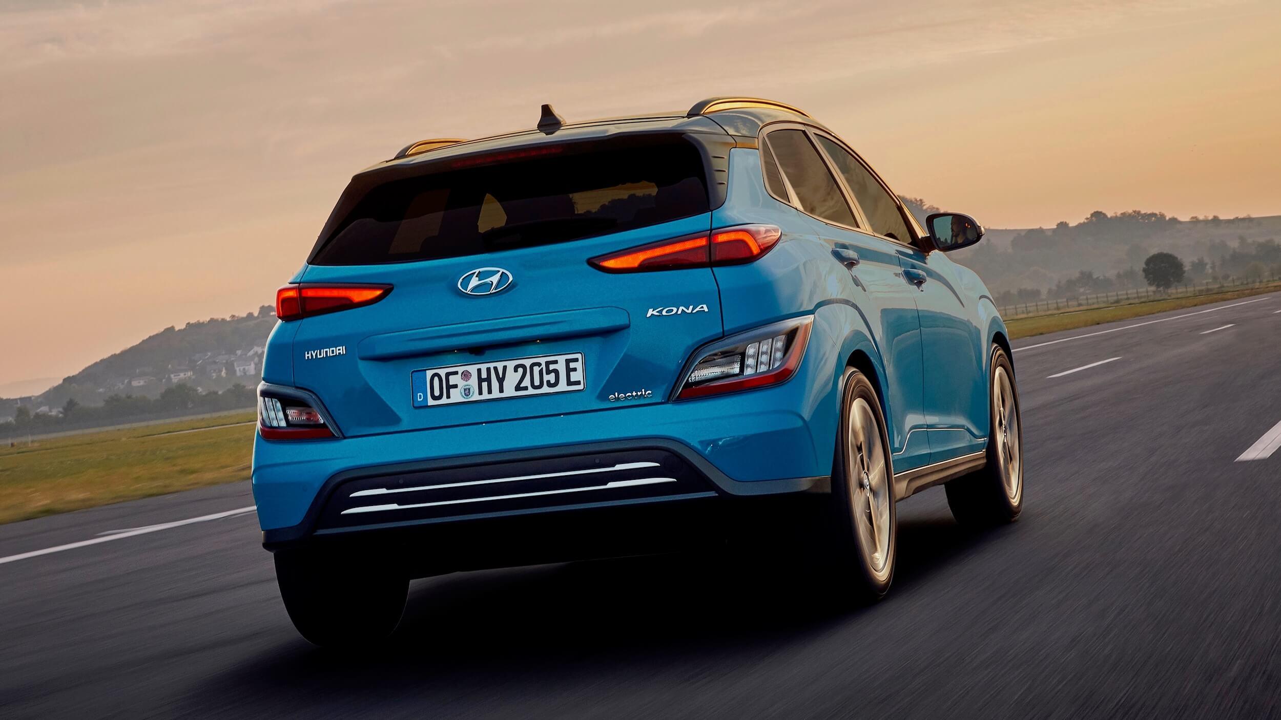 Nieuwe Hyundai Kona electric