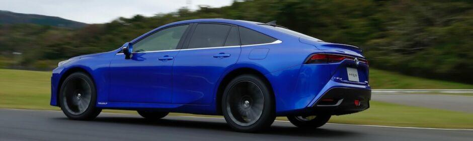 Toyota Mirai waterstofauto