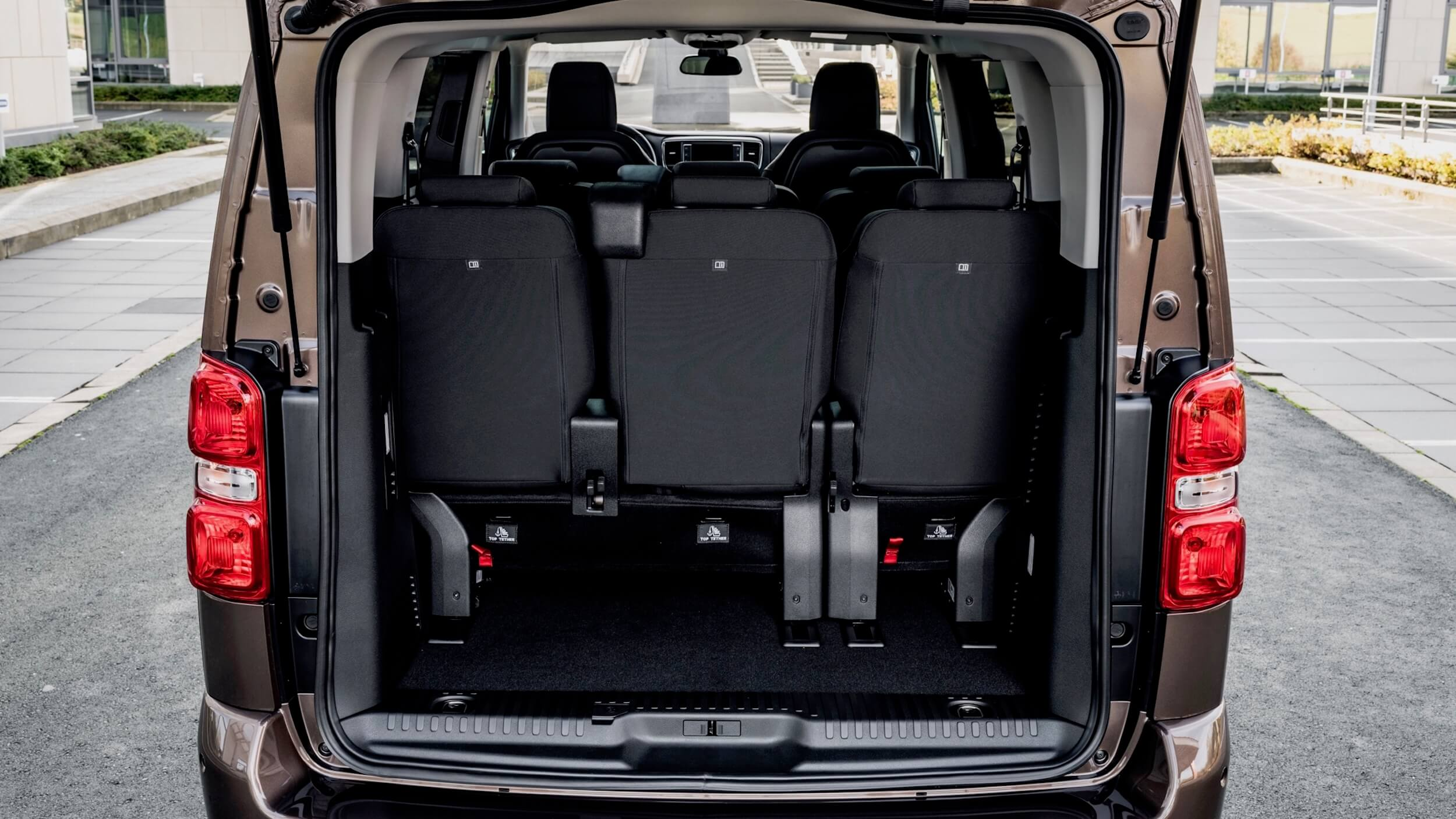 Toyota Proace Verso Electric kofferruimte
