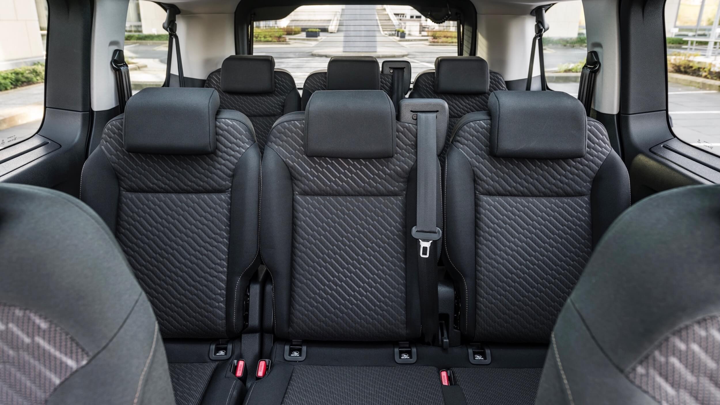 Toyota Proace Verso Electric zetels