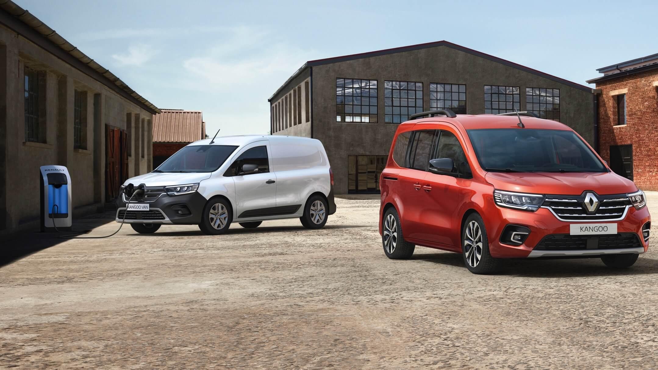 nieuwe elektrische Renault Kangoo ZE