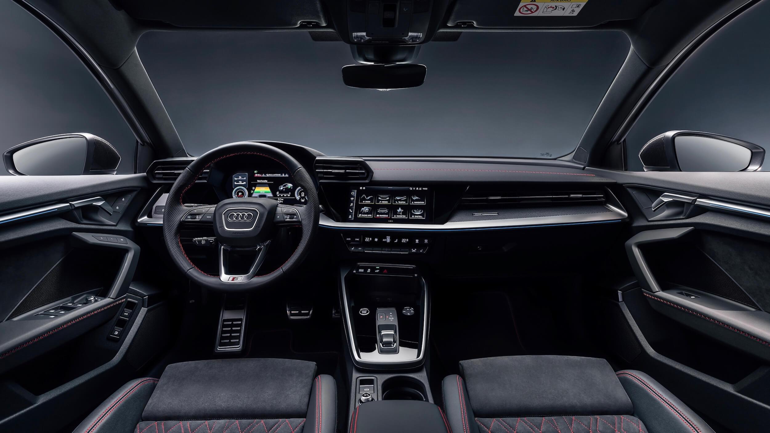 Audi A3 Sportback 45 TFSIe dashboard