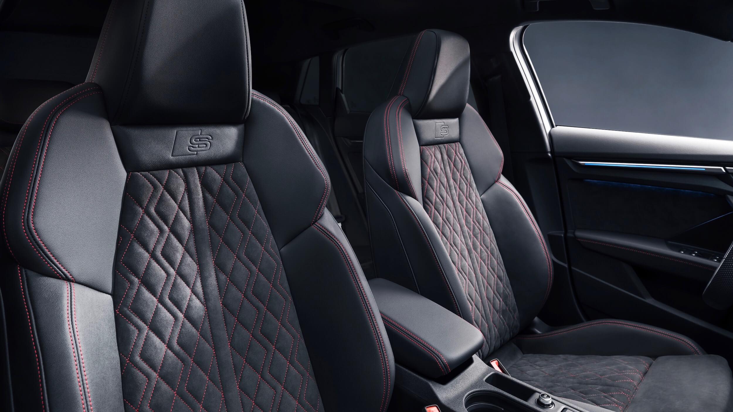 Audi A3 Sportback 45 TFSIe zetels