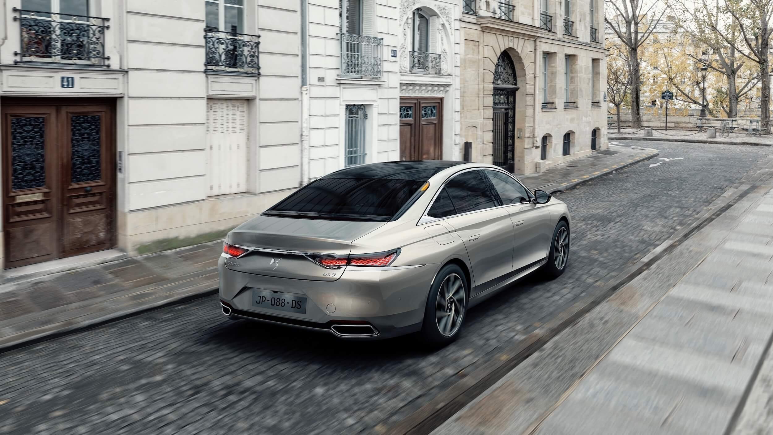 DS 9 E Tense plug in hybride limousine