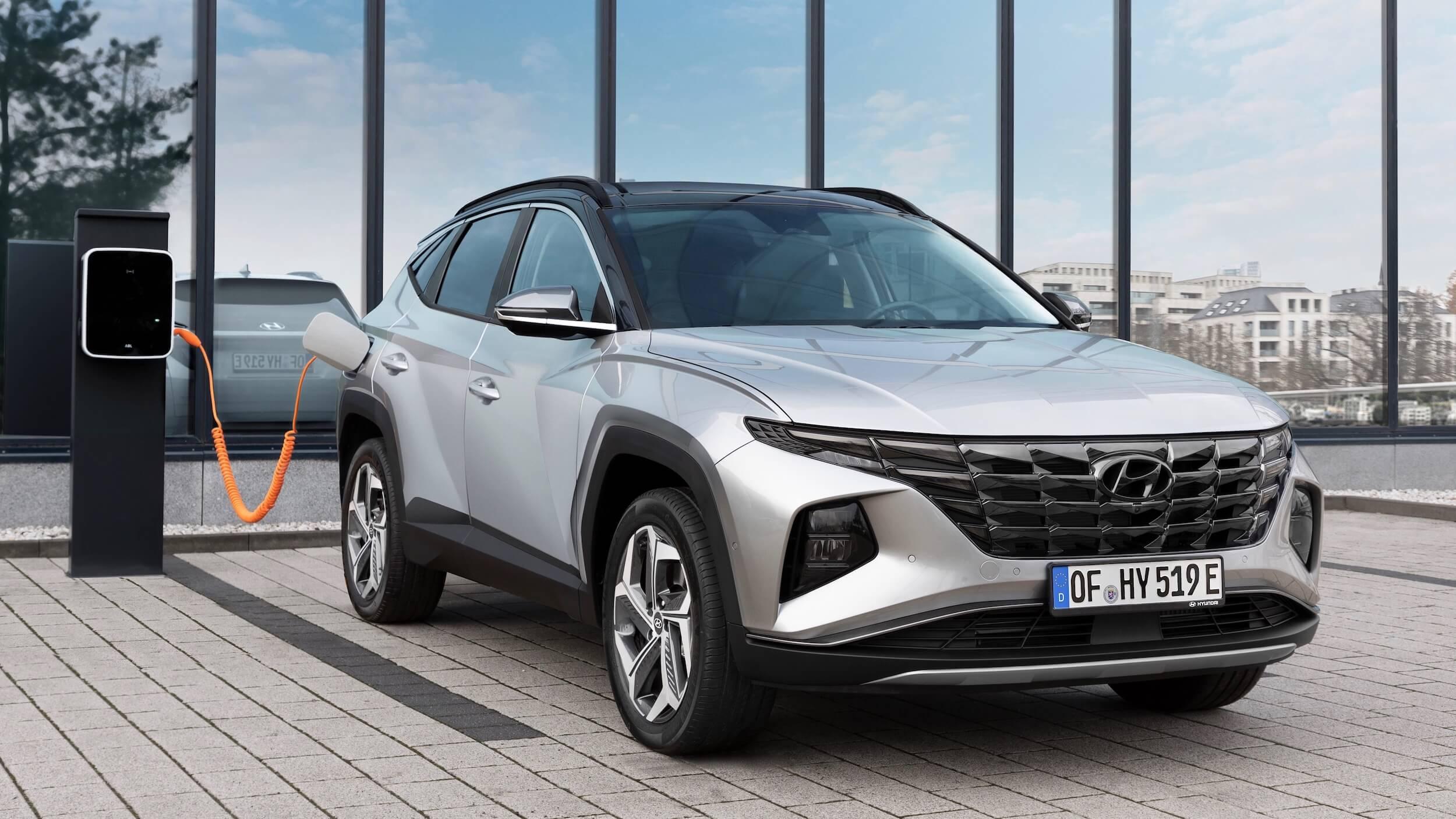Hyundai Tucson NX4 plug in hybride