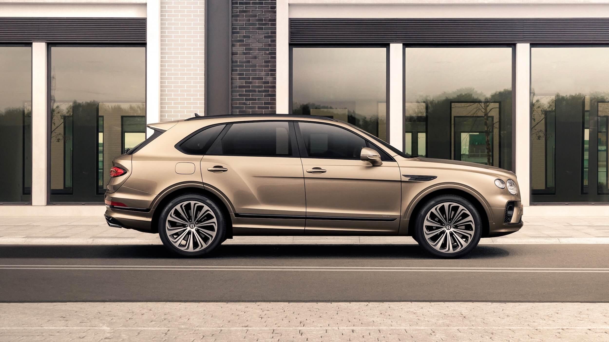 2021 Bentley Bentayga PHEV opladen