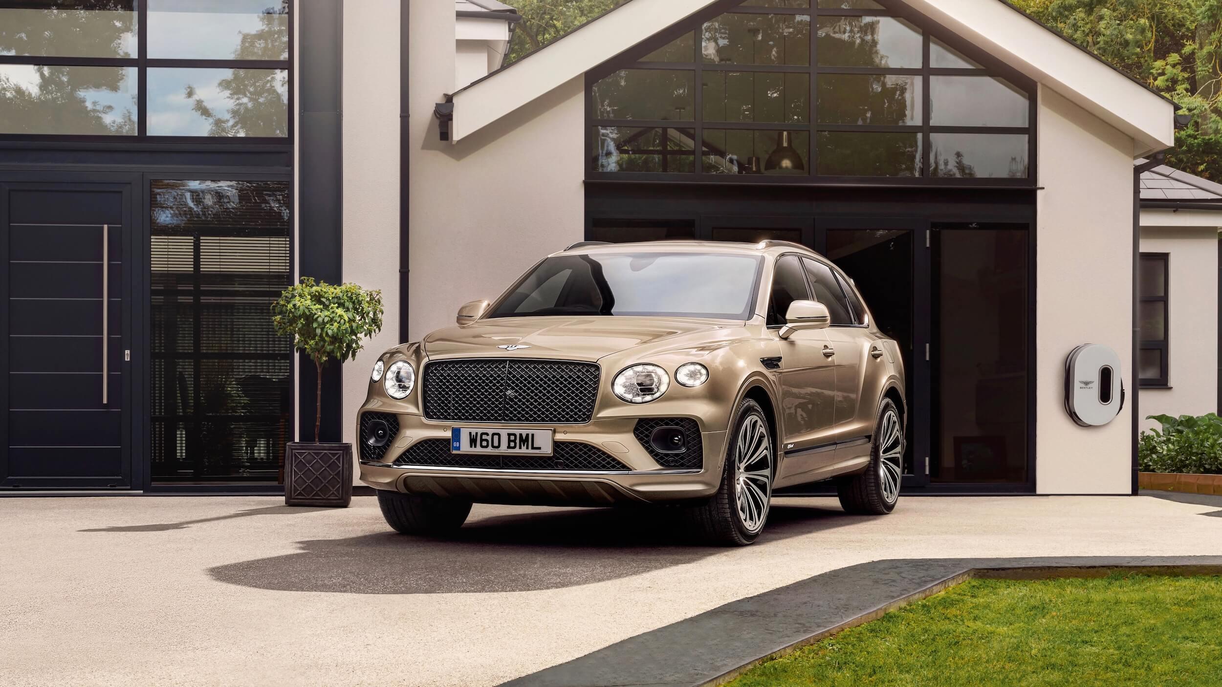 2021 Bentley Bentayga plug in hybride
