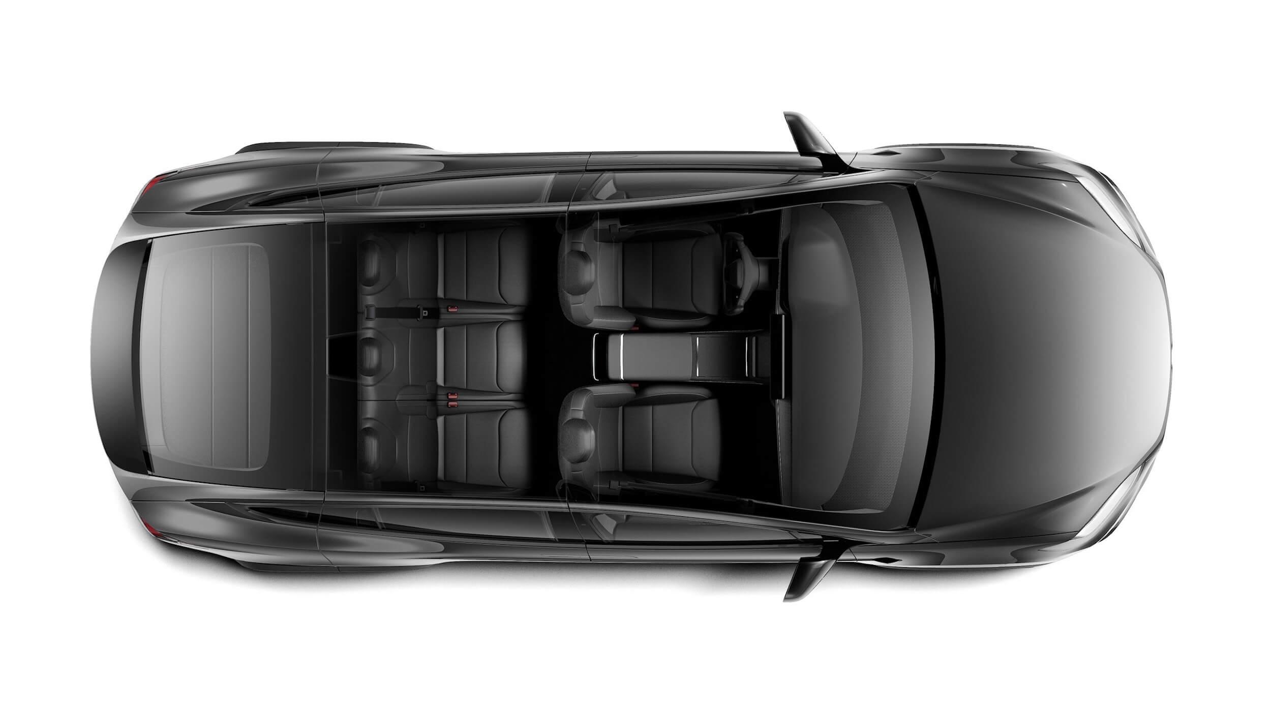 2021 Tesla Model X 5 zetels