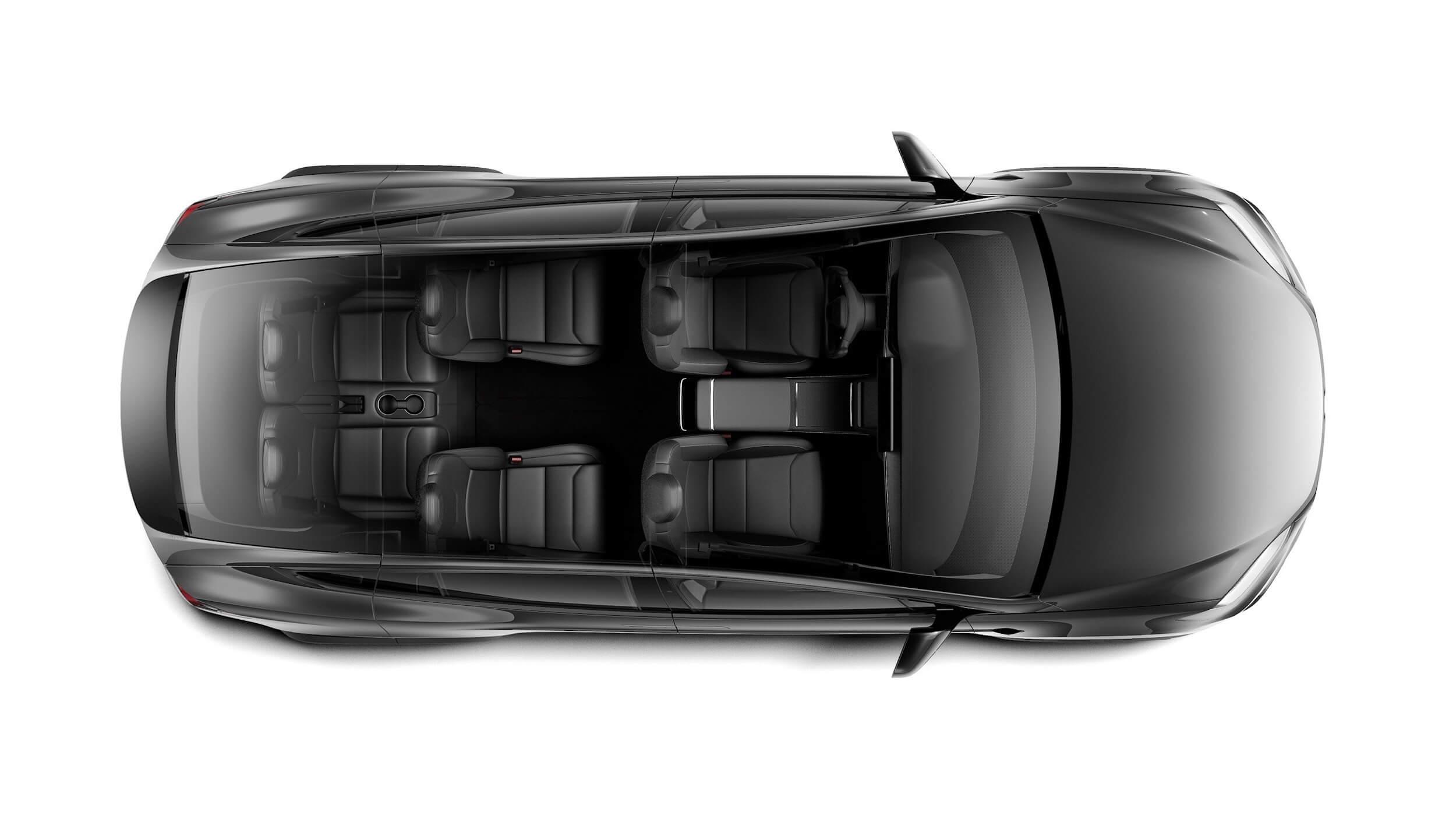 2021 Tesla Model X 6 zetels