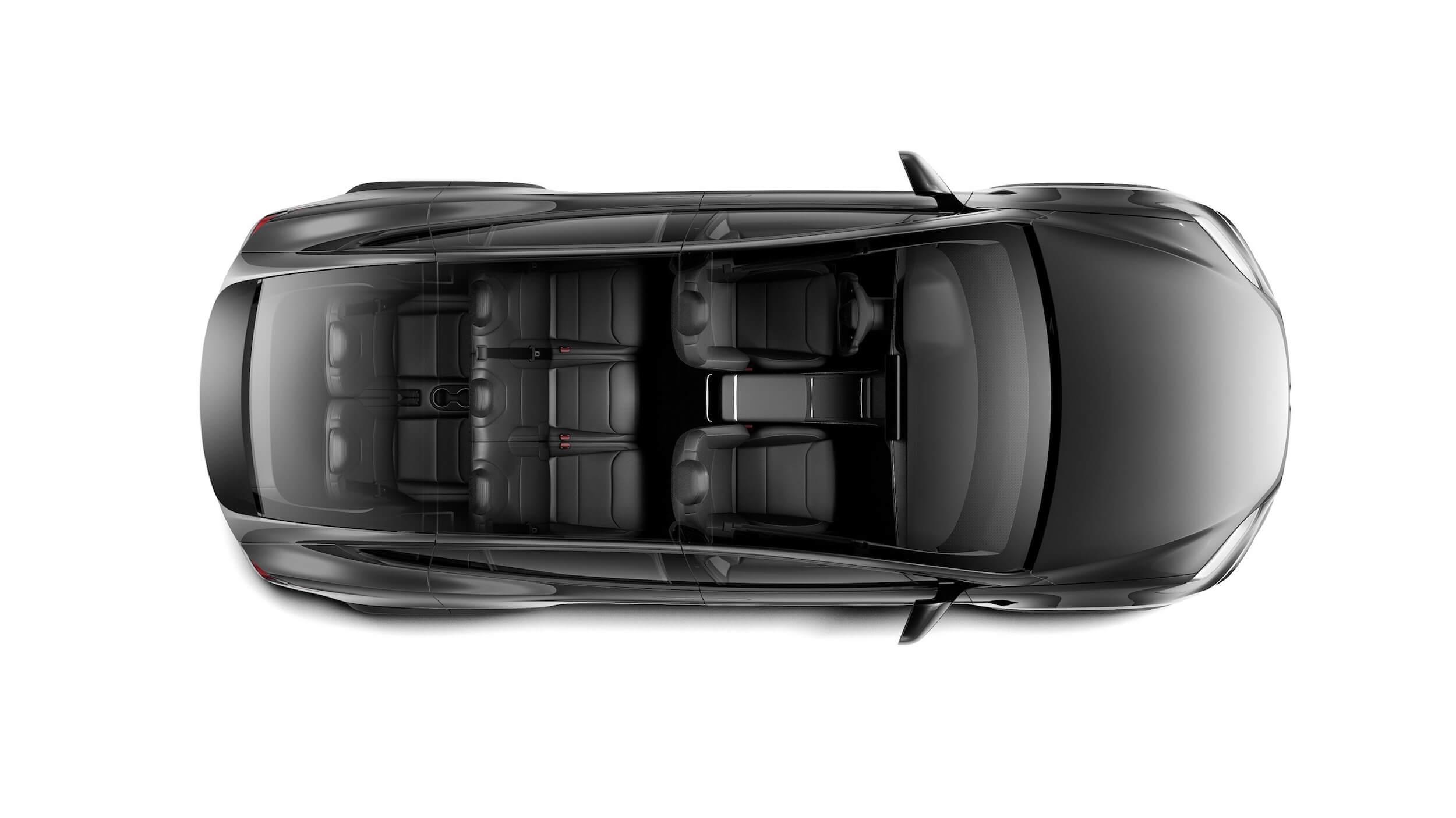 2021 Tesla Model X 7 zetels