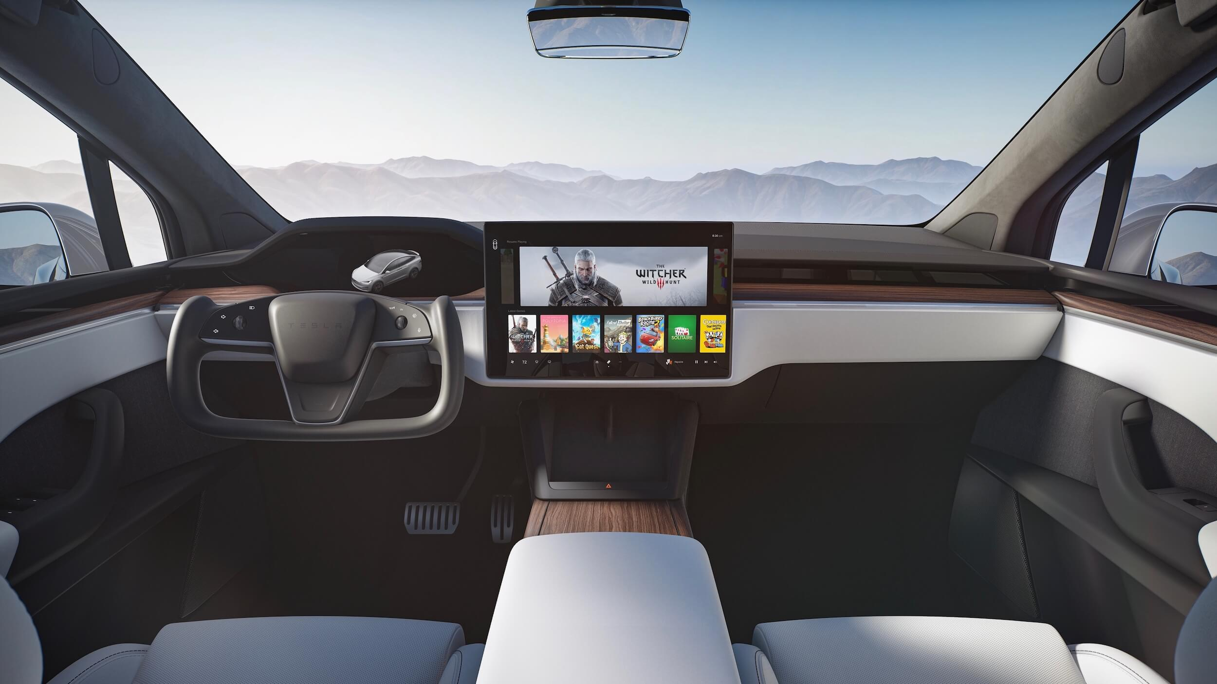 2021 Tesla Model X interieur